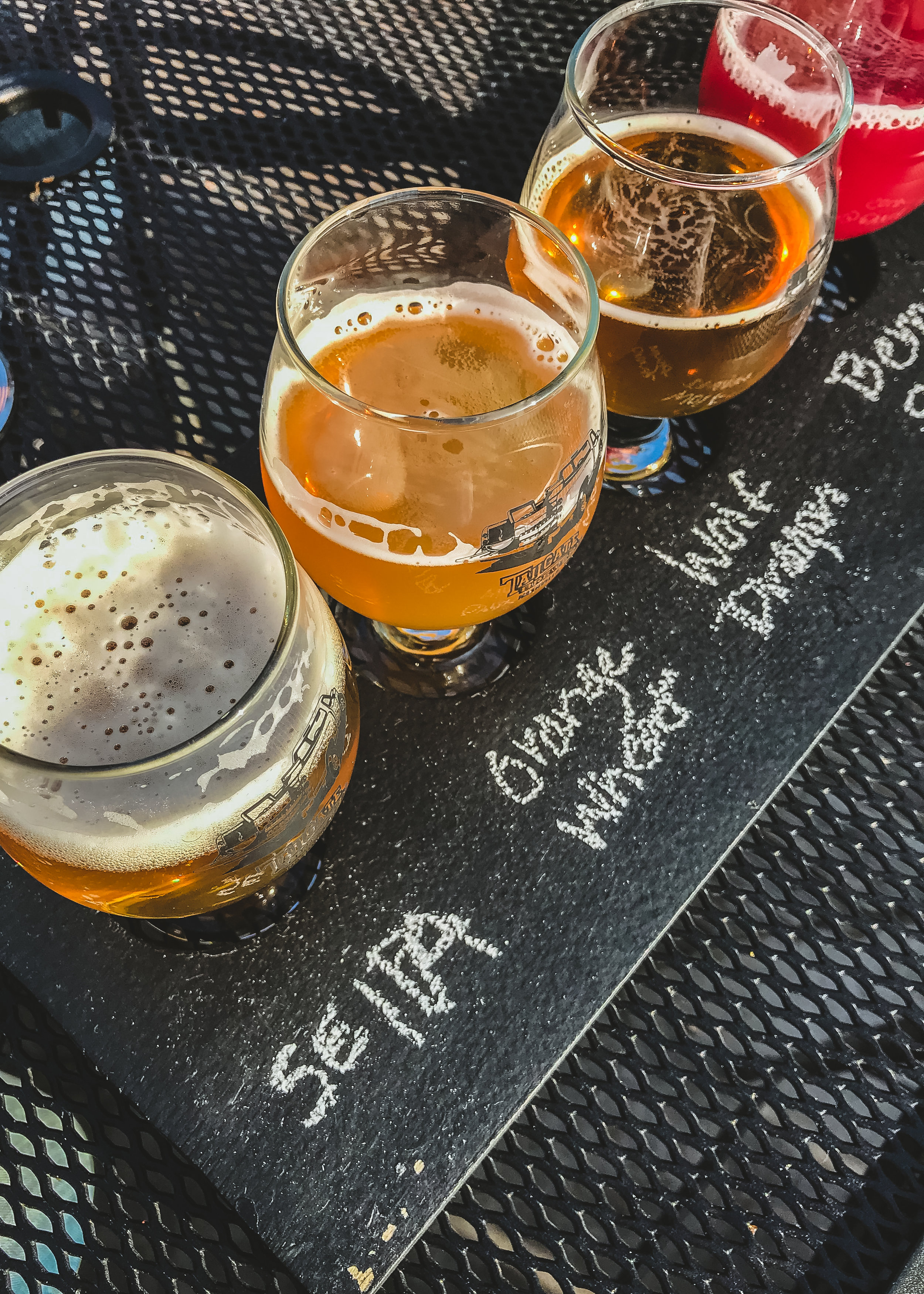 LSS Tailgate Brewery Beer Flight