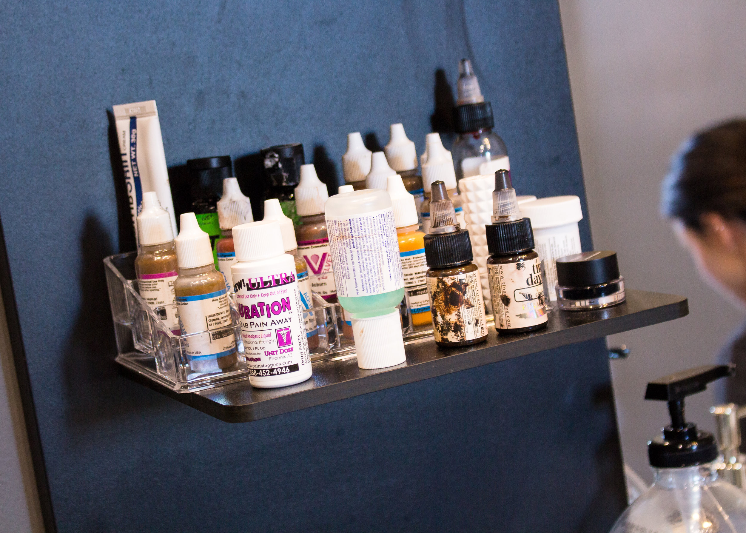 LSS Ink and Arch Bottles