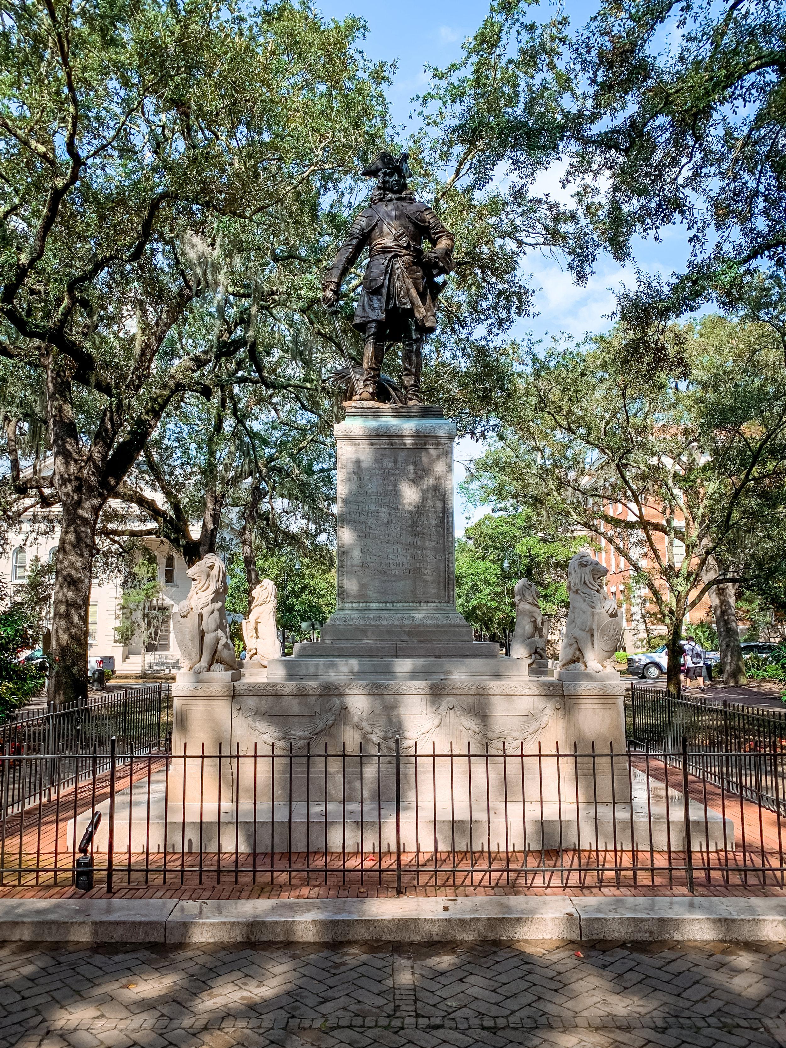 LSS Savannah Square Statue