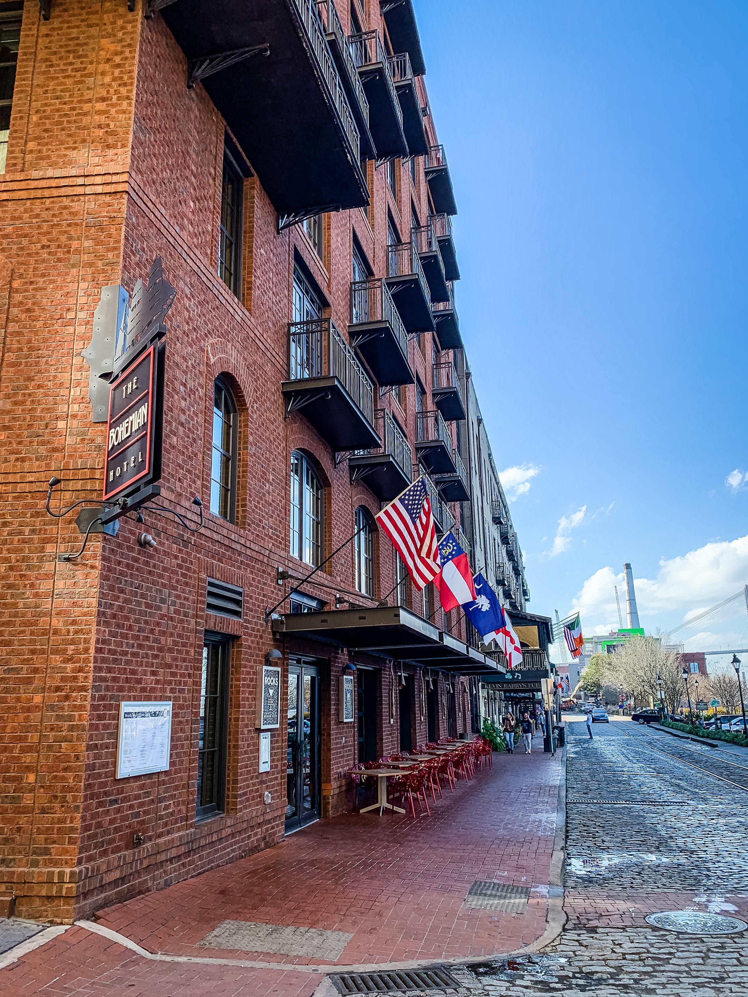 LSS Savannah River Street