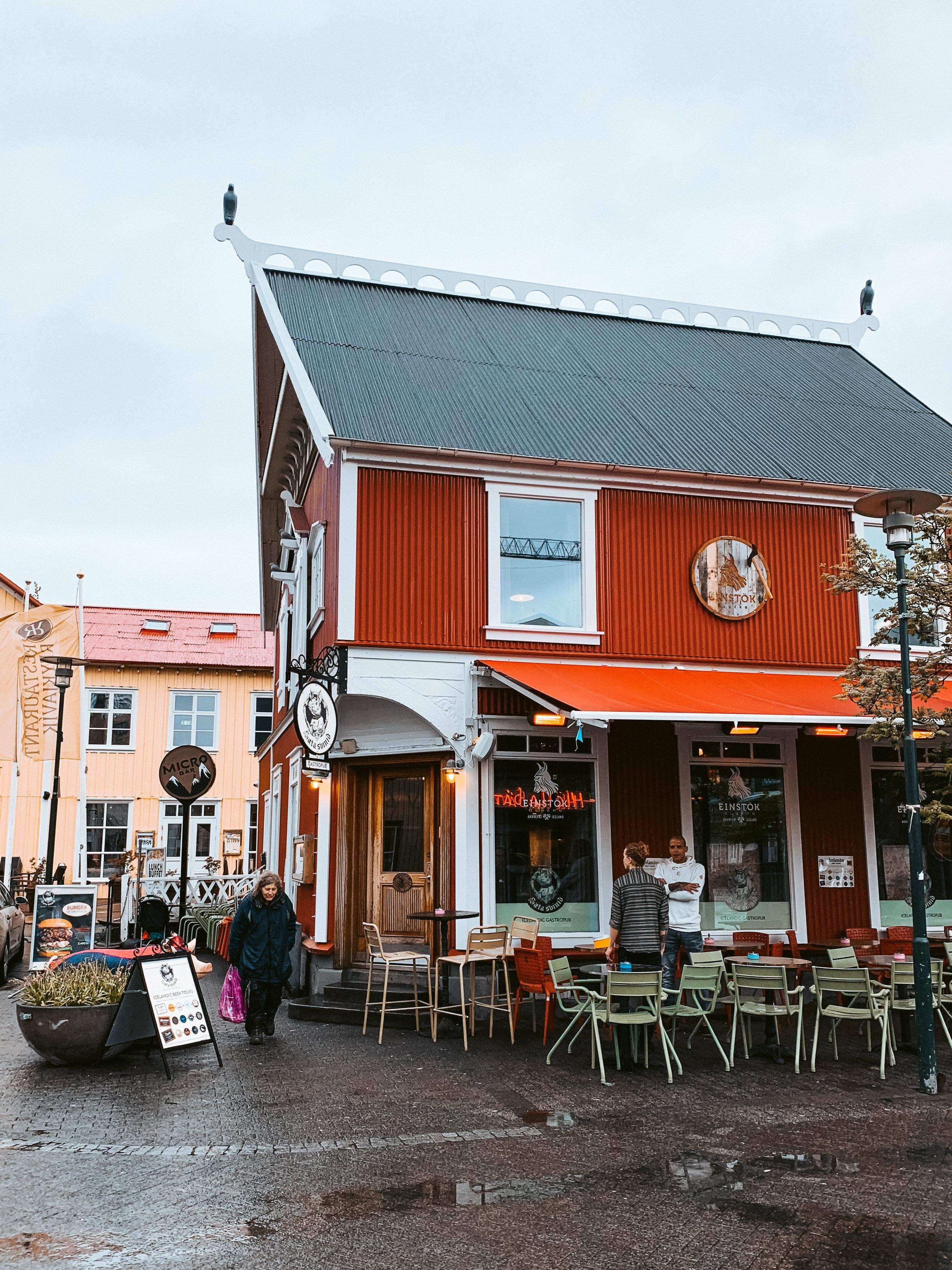 LSS Downtown Reykjavik Iceland Bar