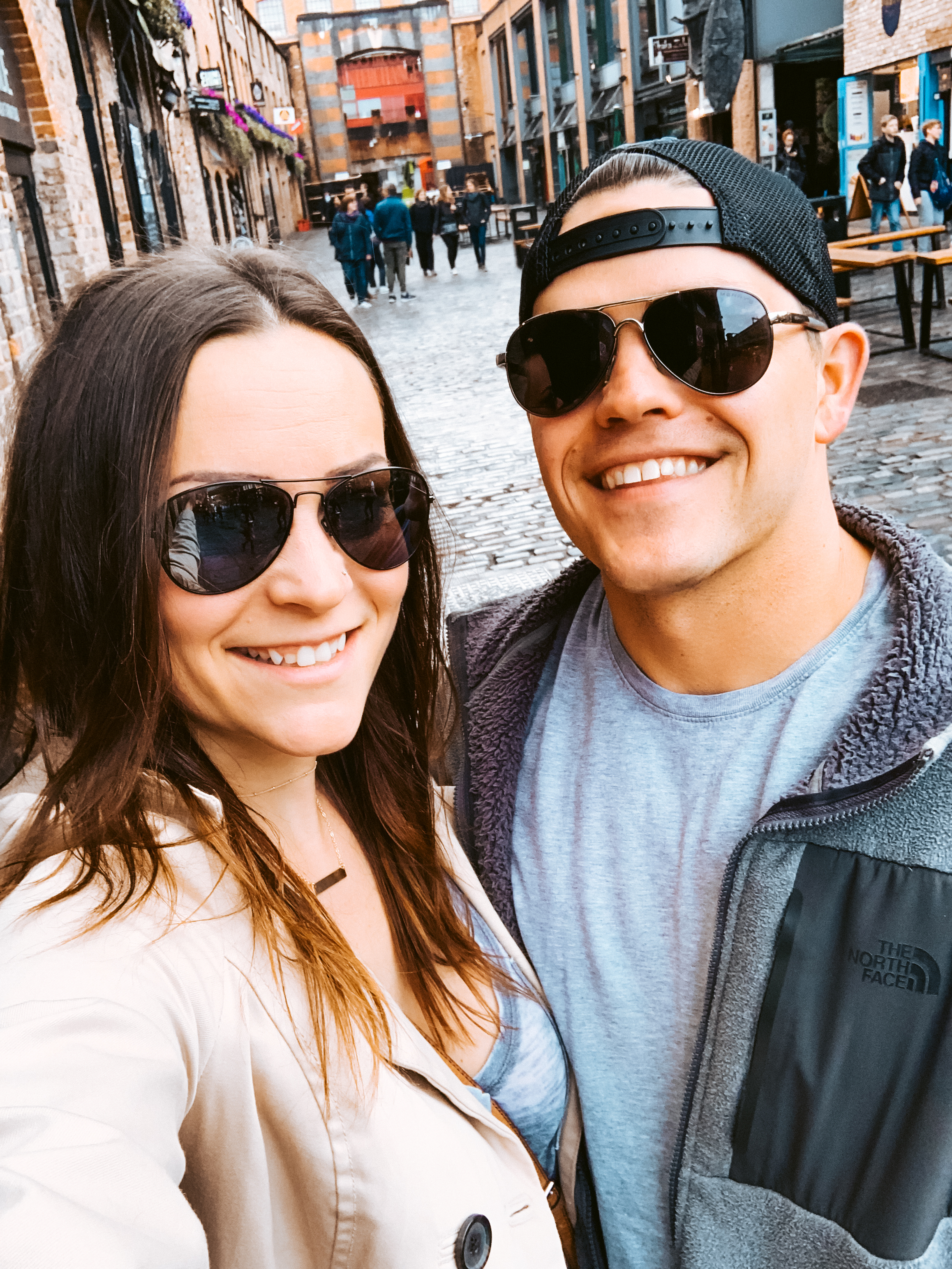 Laura and Ryan in Camden Town London