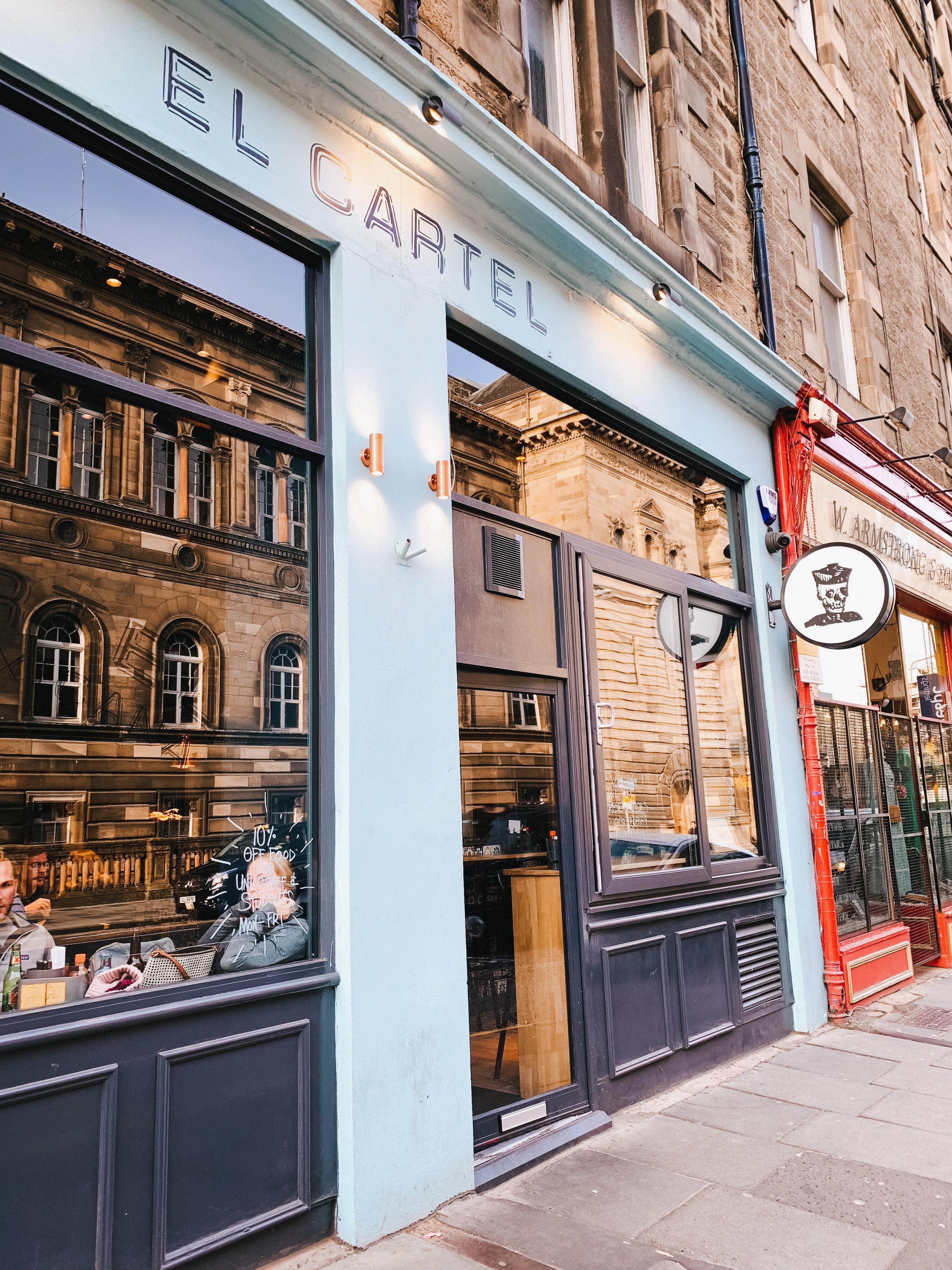 LSS El Cartel Mexican Edinburgh Scotland