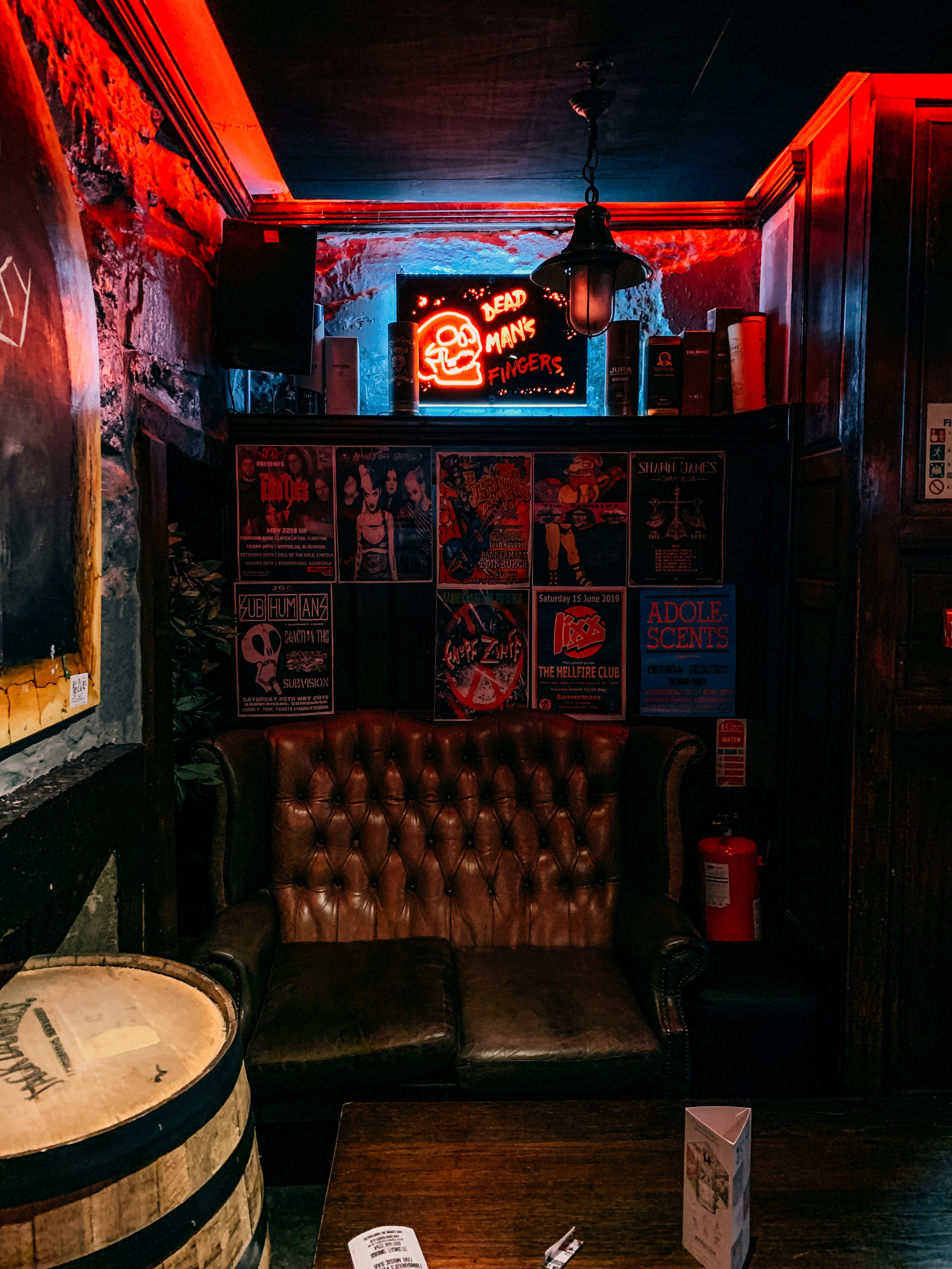 LSS Bannermans Bar Edinburgh Scotland