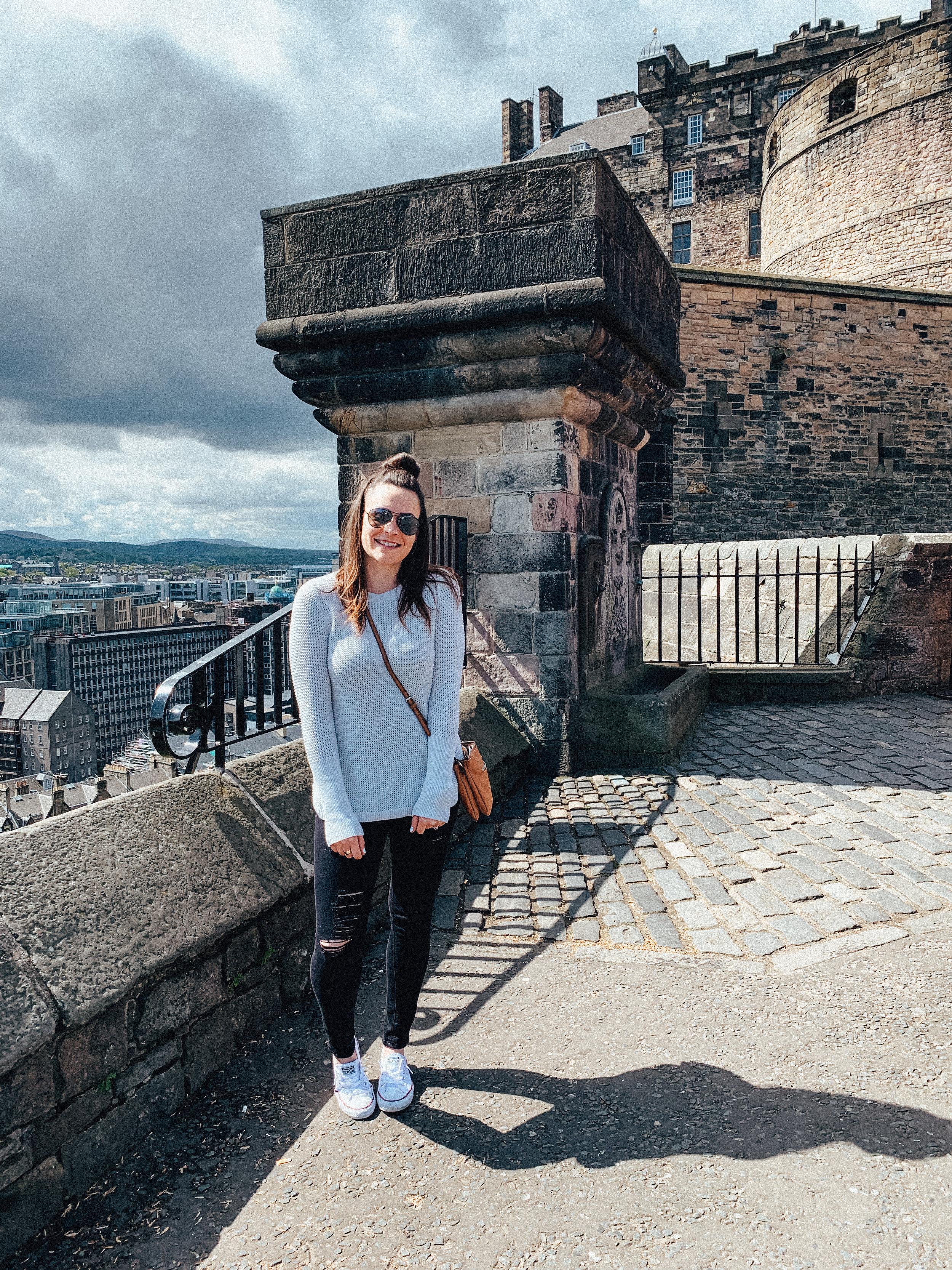 LSS Edinburgh Castle Scotland