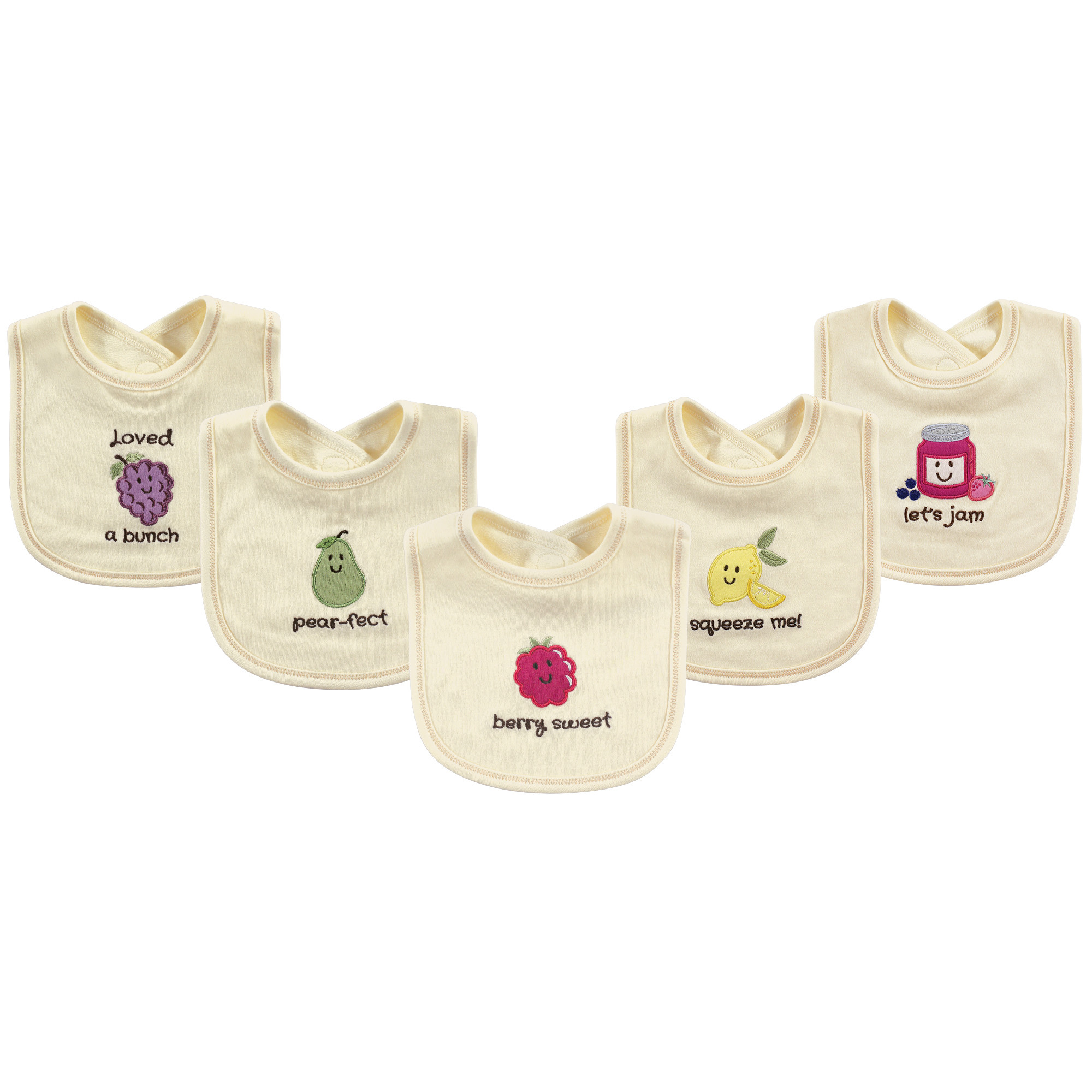 Touched by Nature Organic Infant bibs.