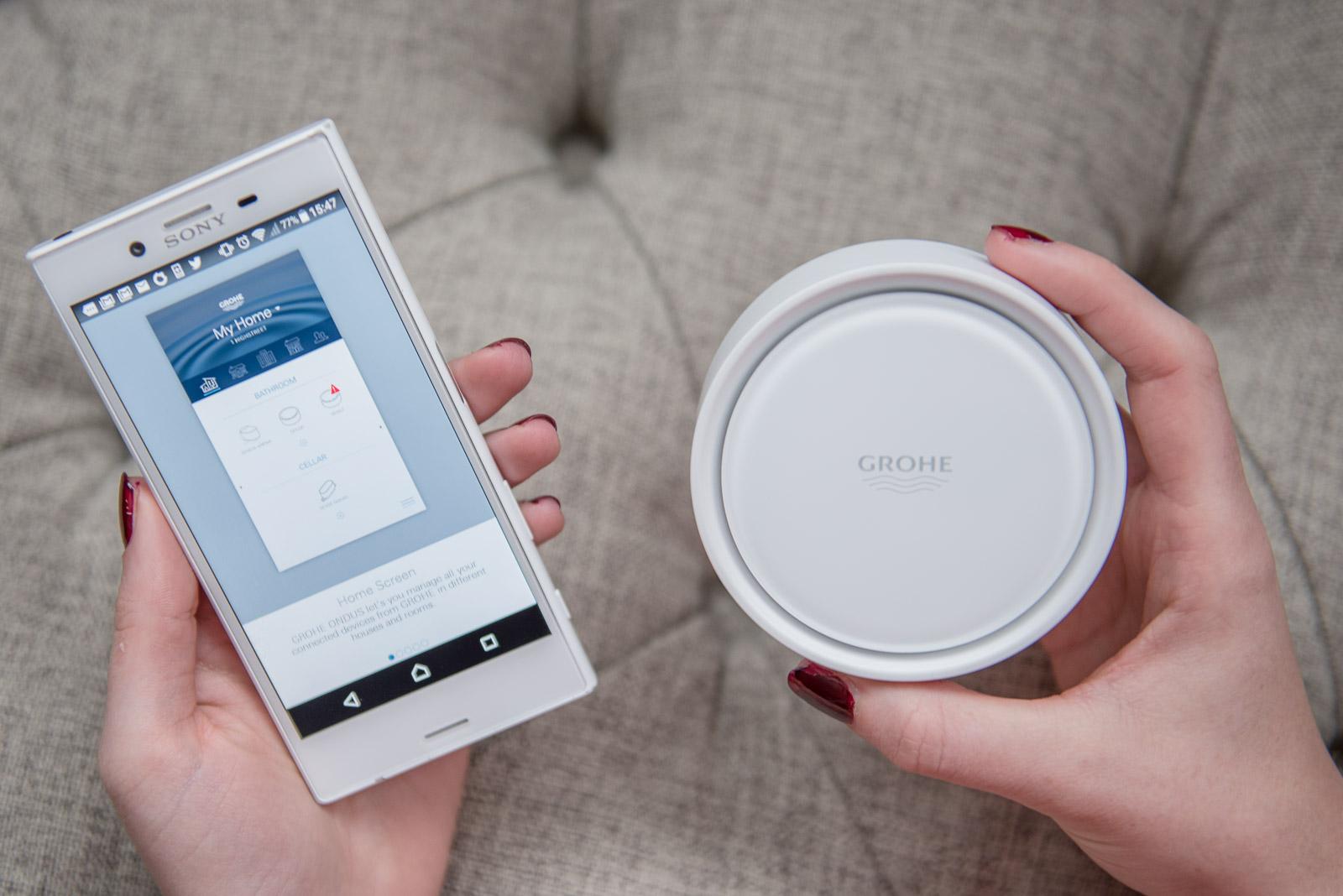 Grohe Sense Tech Apps for Home Renovators