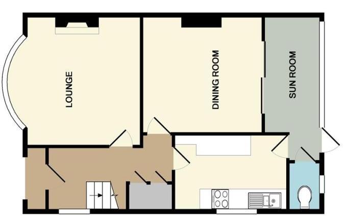 original 1930s semi floor plan