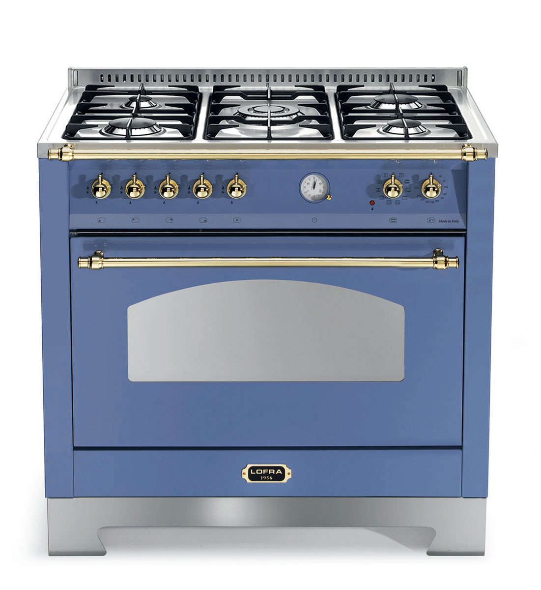 Lofra, Blue, Gas hob, one oven,  Here