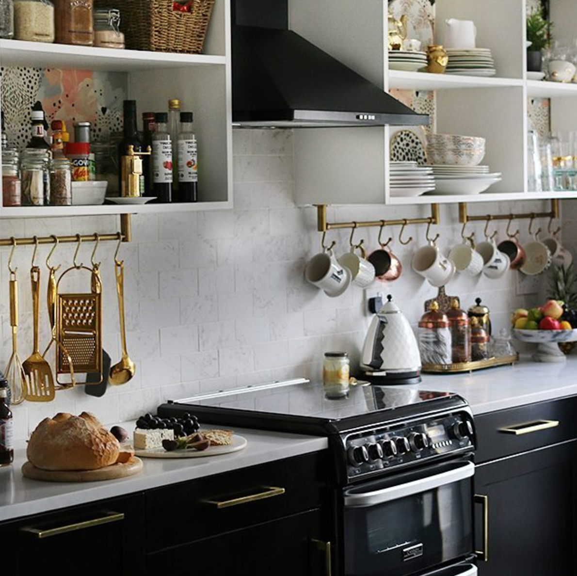 KIMBERLY'S KITCHEN IN HER EDWARDIAN HOME IN MANCHESTER