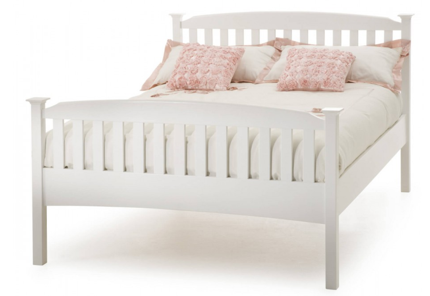 The Eleanor High Foot Bed Frame , £299 for a UK Double, Bed Guru