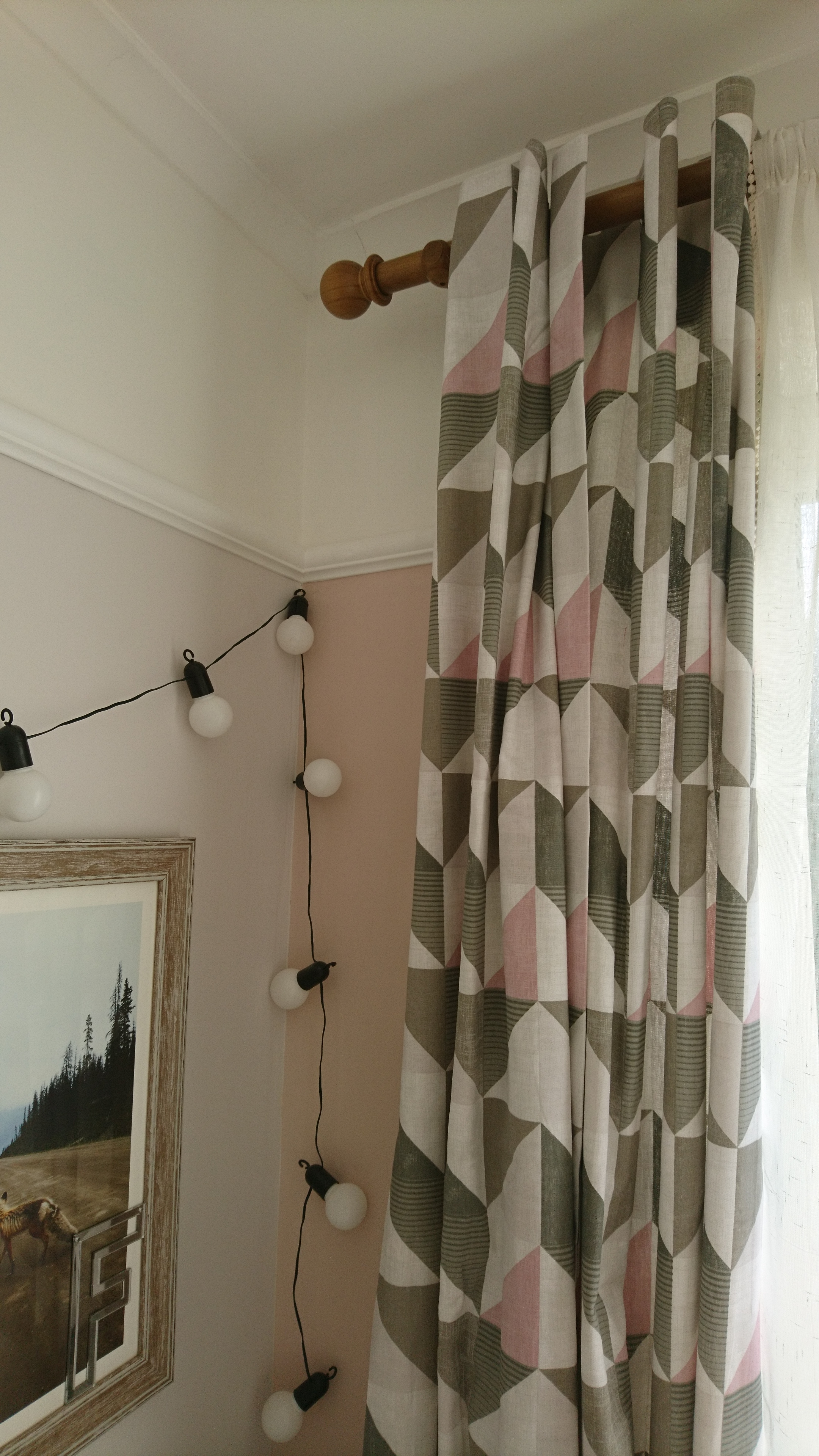 Swish Curtain pole and curtains