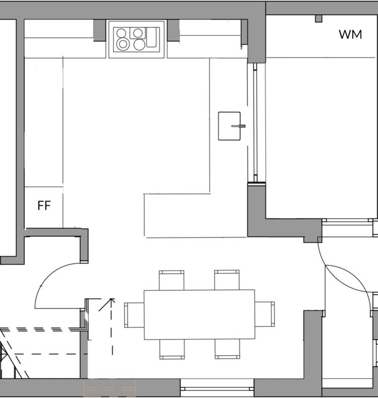 THE FLOOR PLANS AFTER