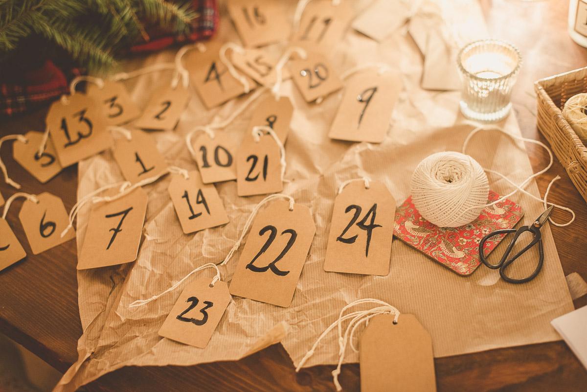My DIY Handmade advent calendar