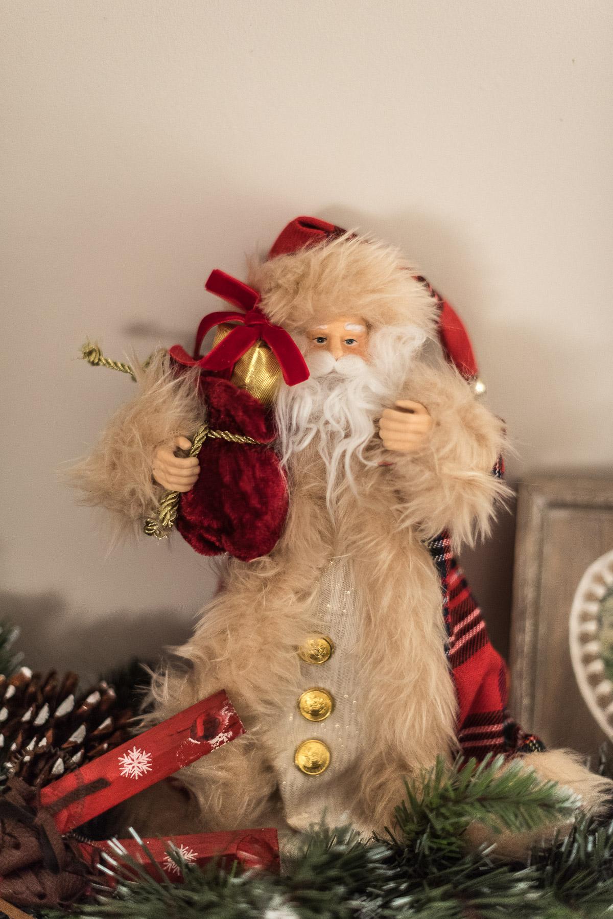 Santa Claus Tree topper, Asda