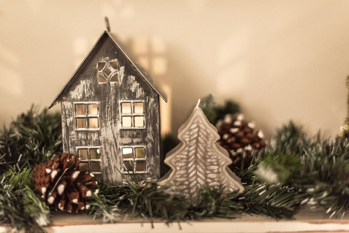 Scandinavian Christmas House decoration