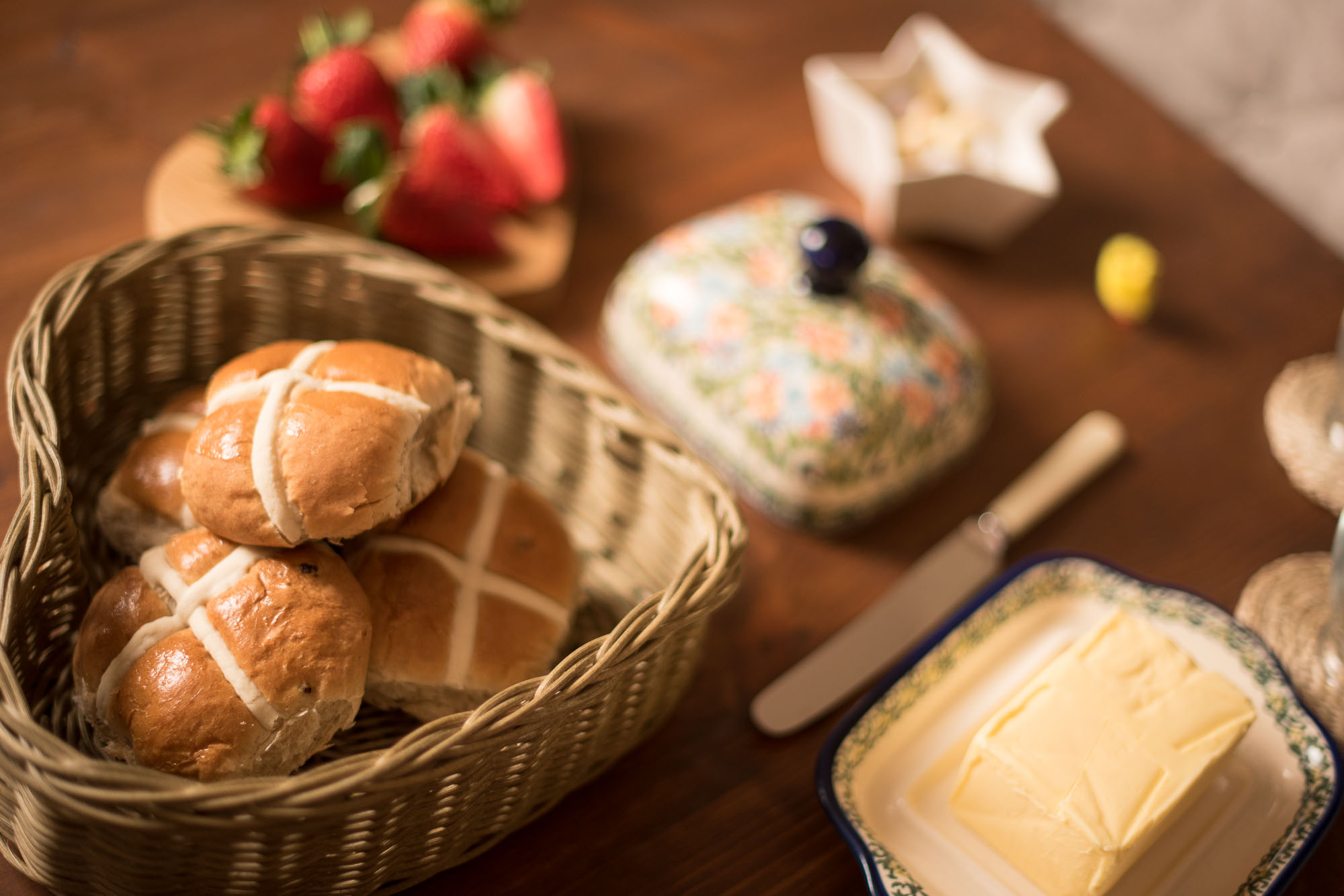 Easter Afternoon Tea / The White Company