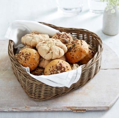 Heart shaped bread basket , £25
