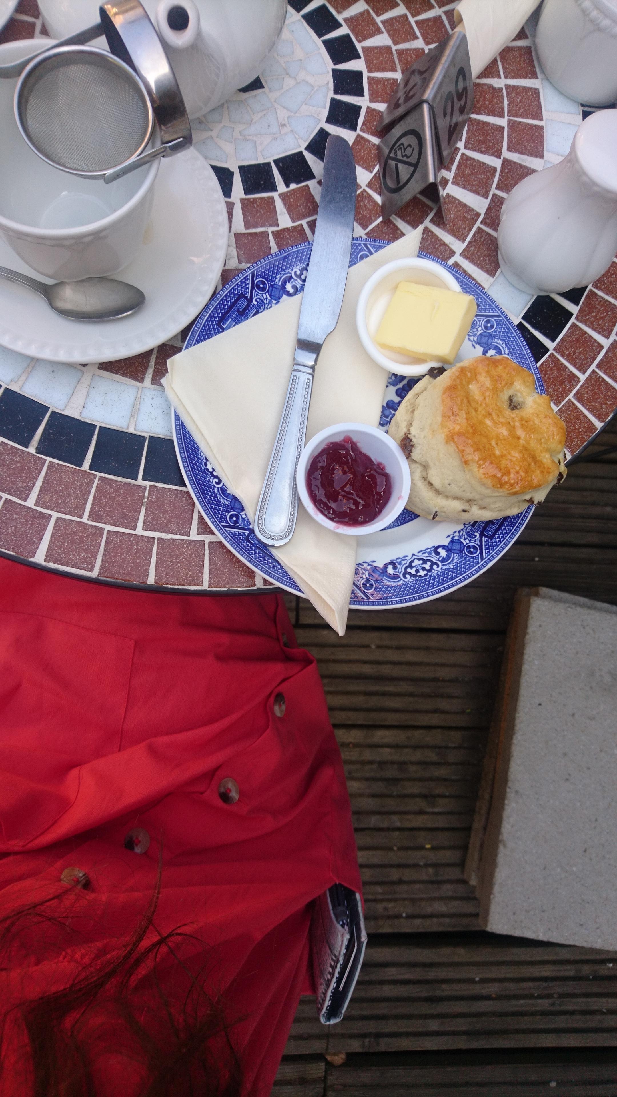 Tea & Scones in Ditchling Sussex