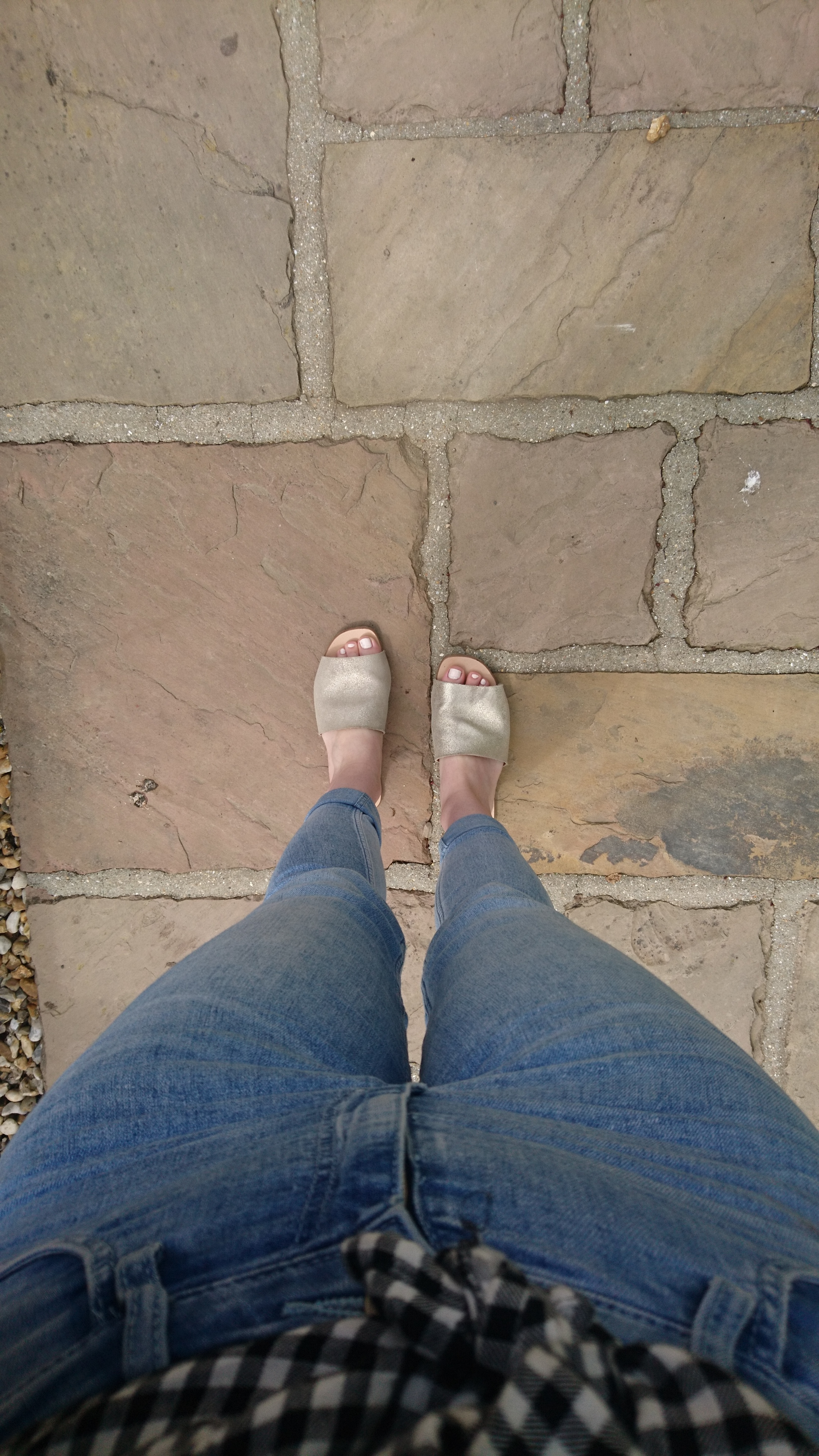 Country stone floor