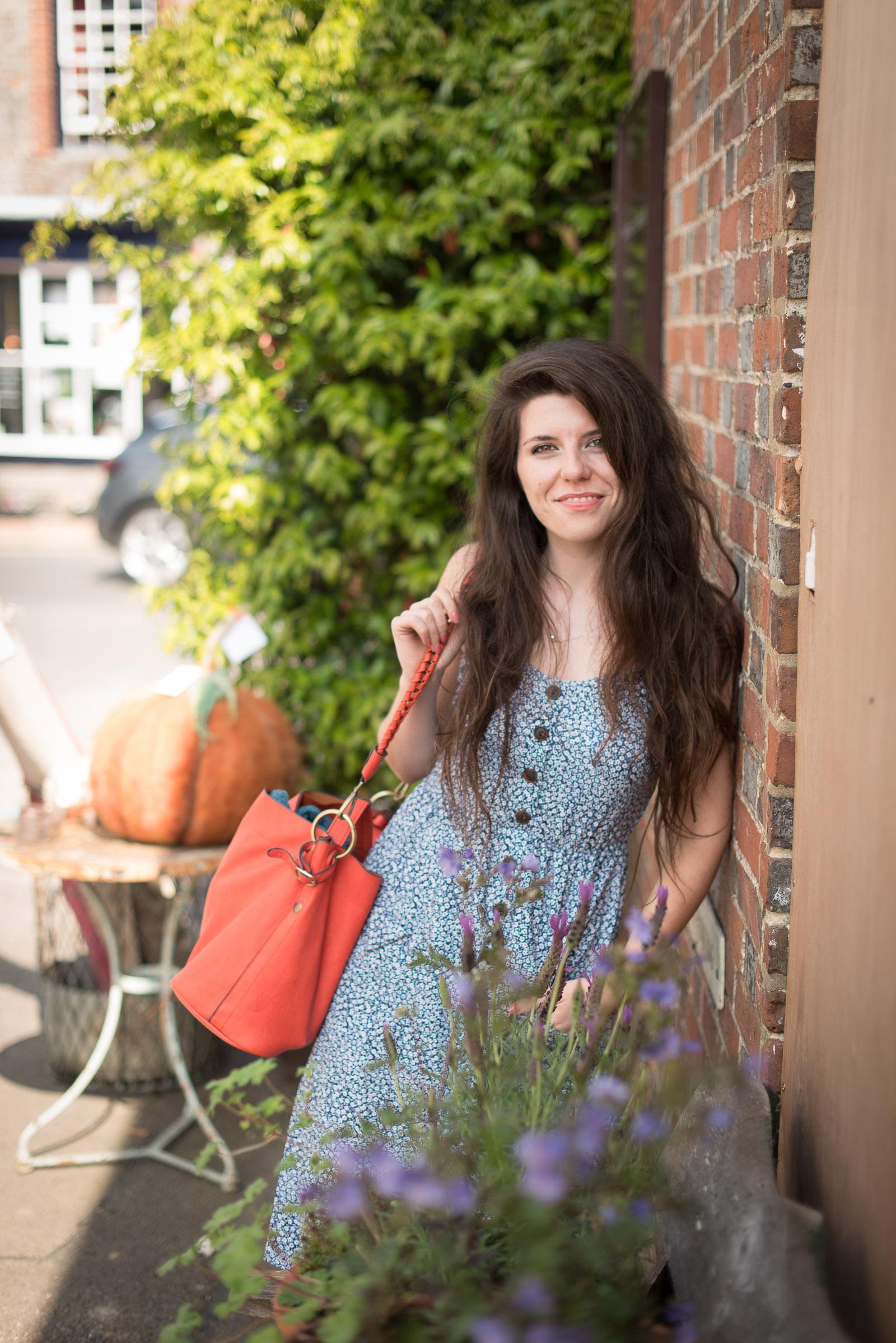 Fifi McGee in Alfriston, Brighton Blogger