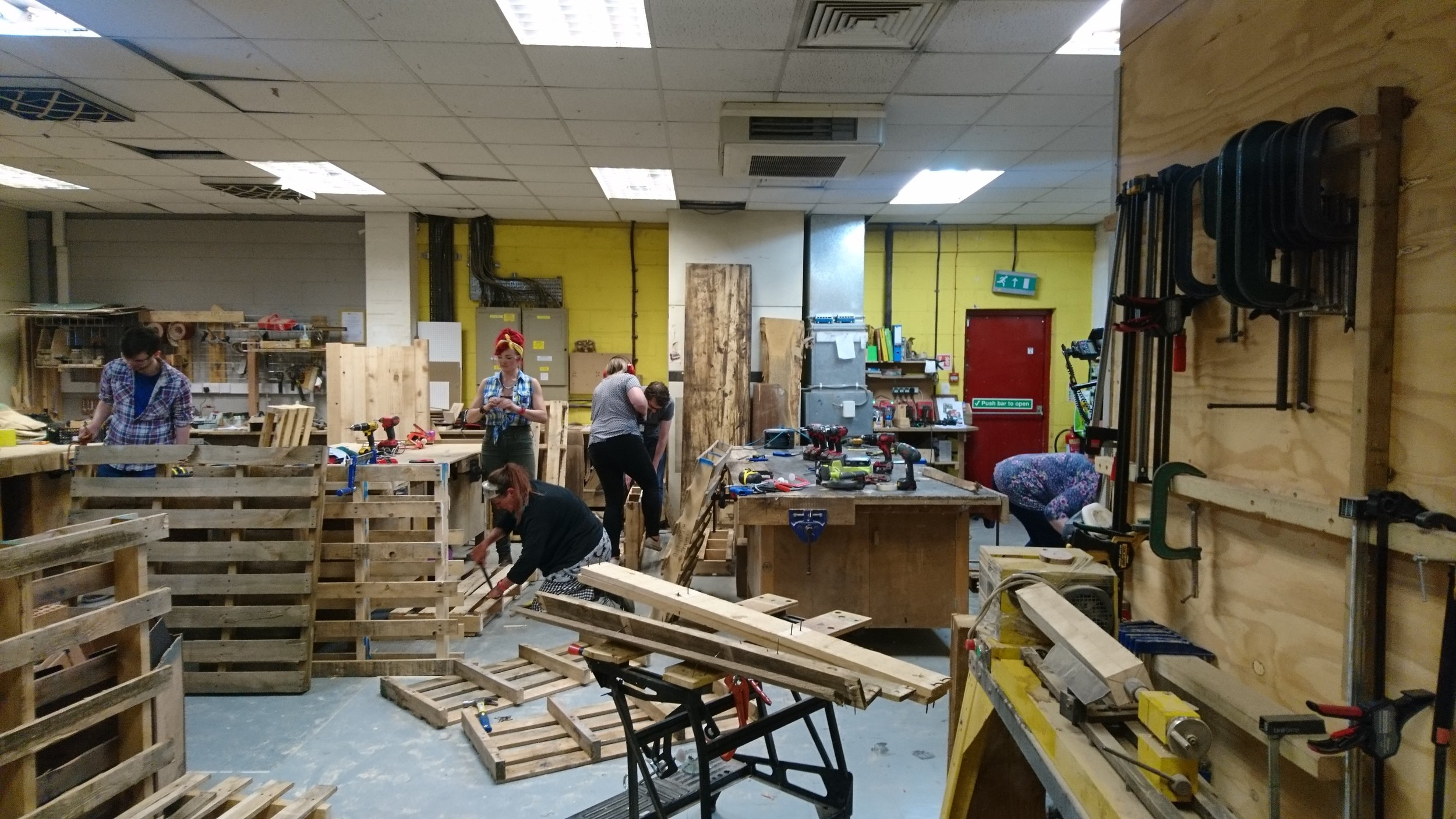 the wood store workshop brighton
