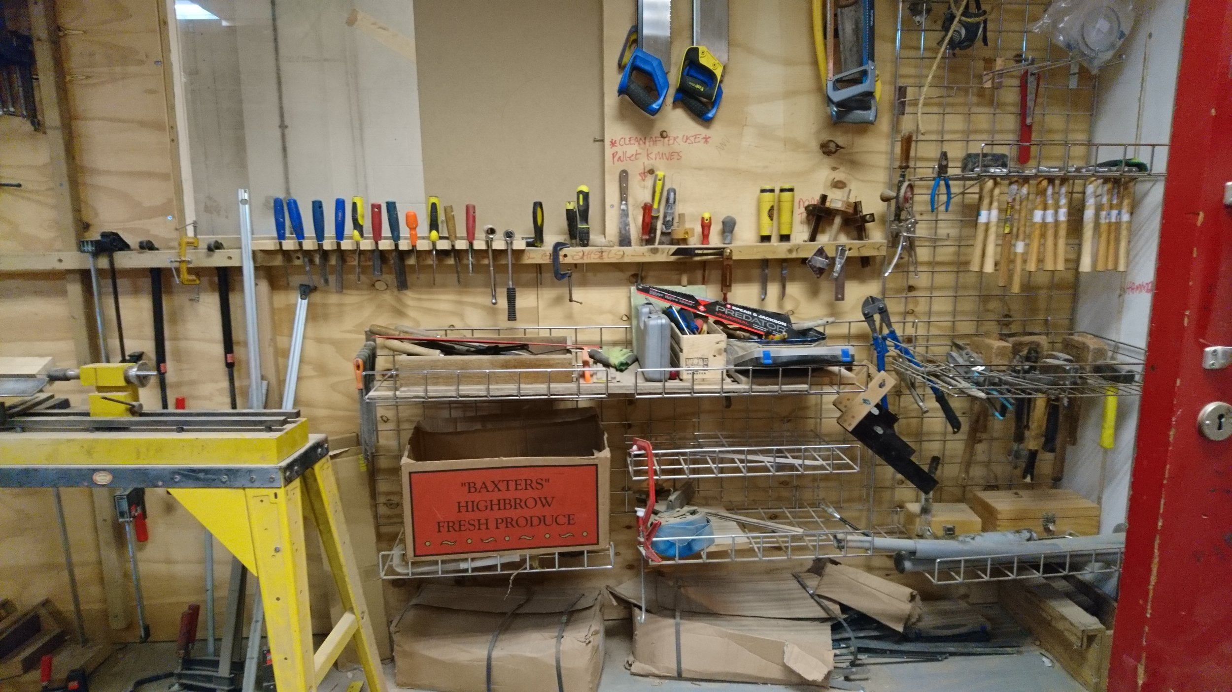 the wood store diy class brighton