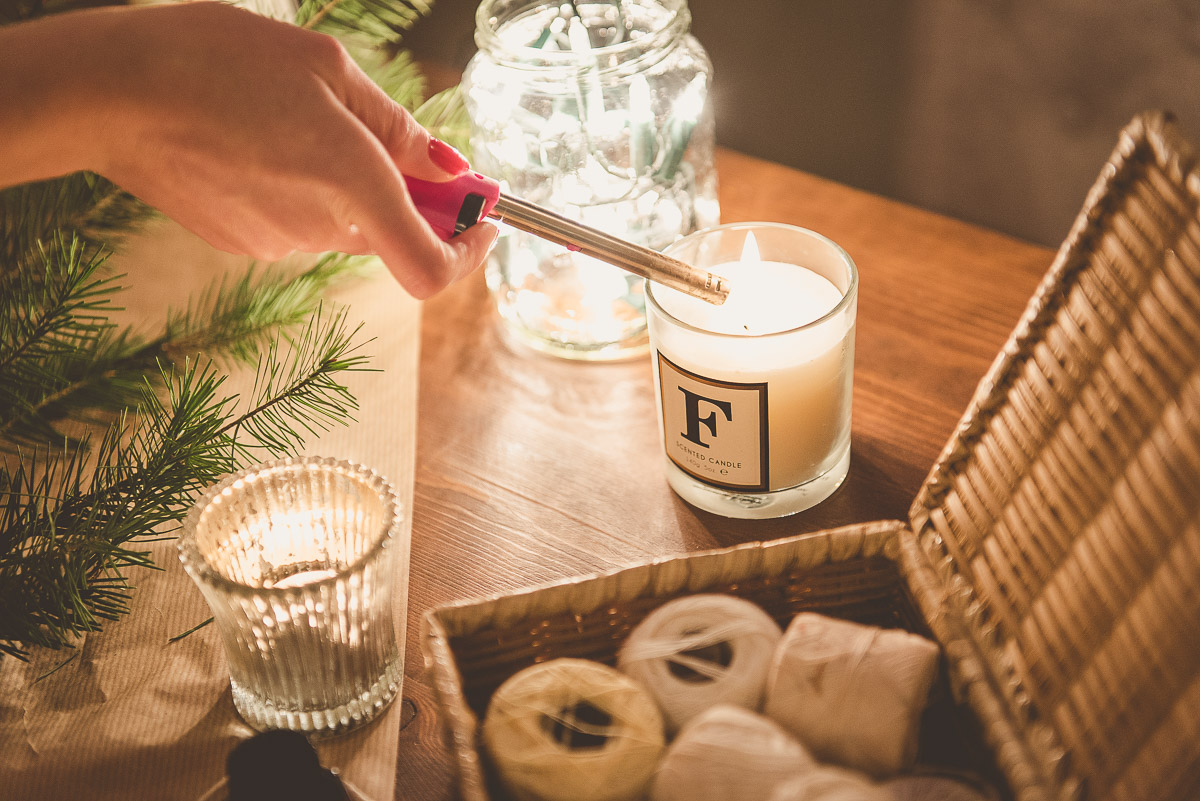 Candle Christmas Interior Blogger's Gift Guide
