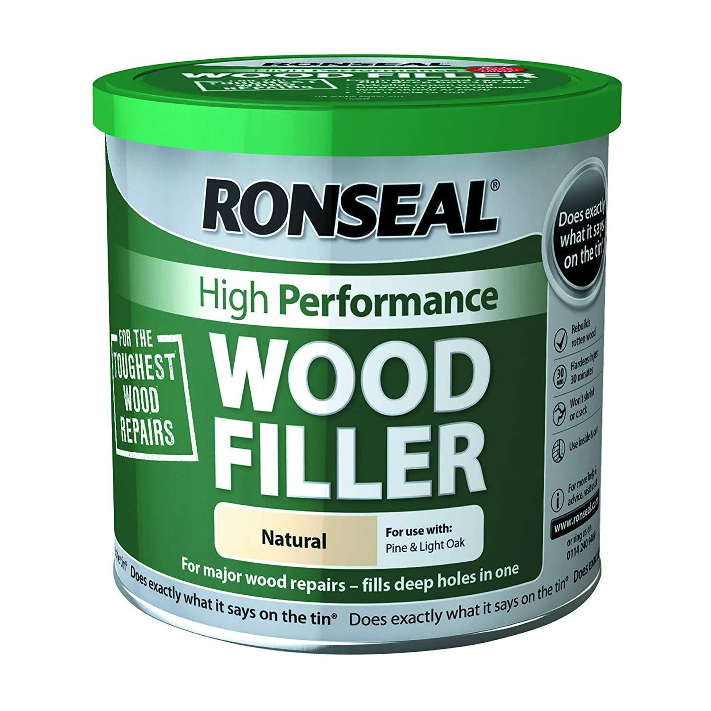 diy ronseal wood filler