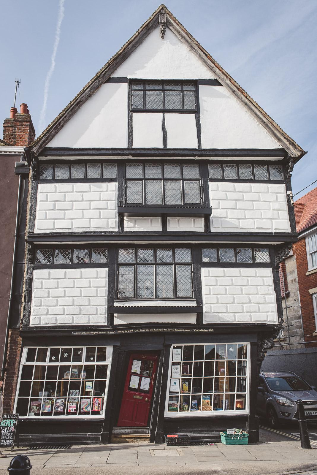 Canterbury bookshop, Kent