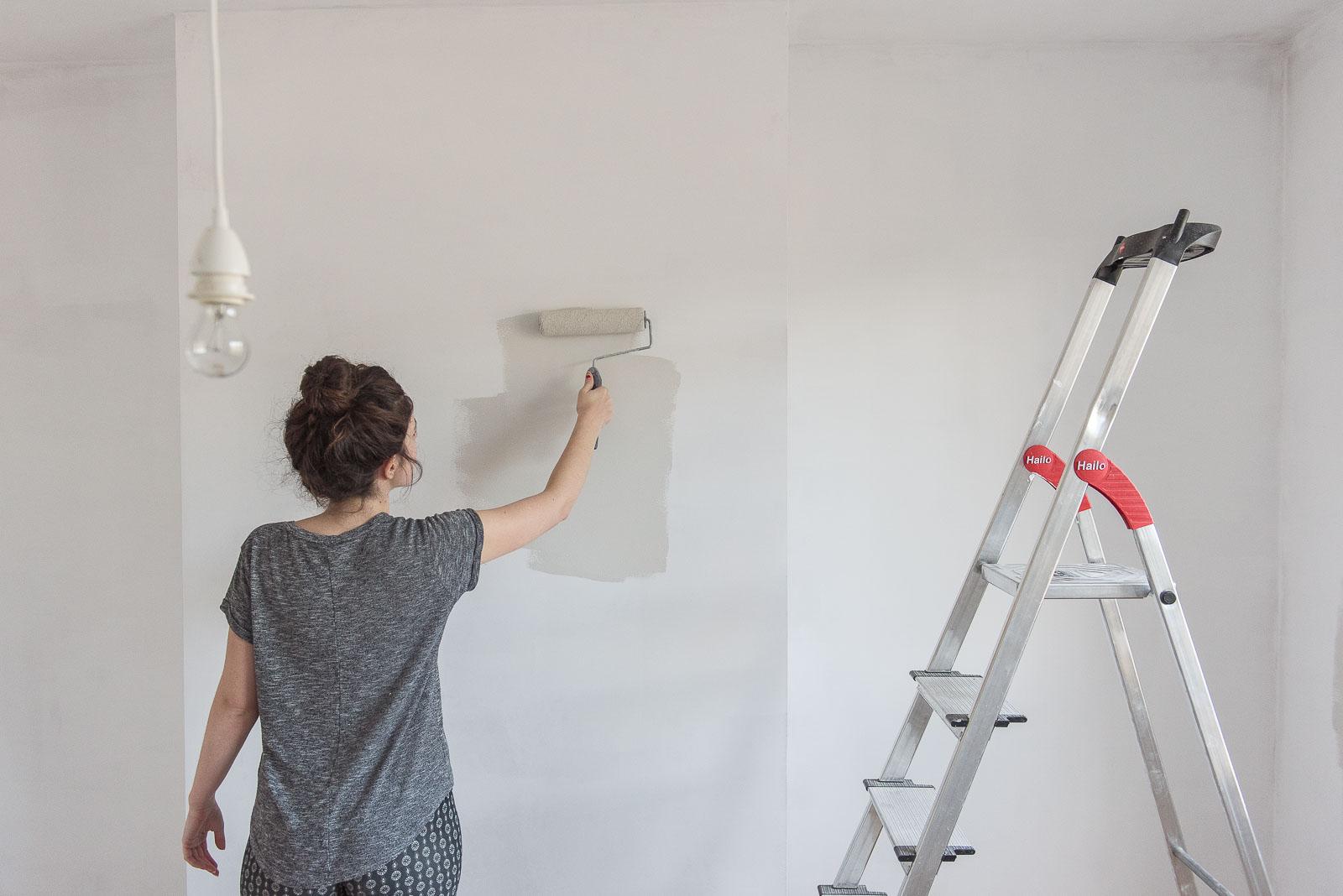 minimising dust house renovation