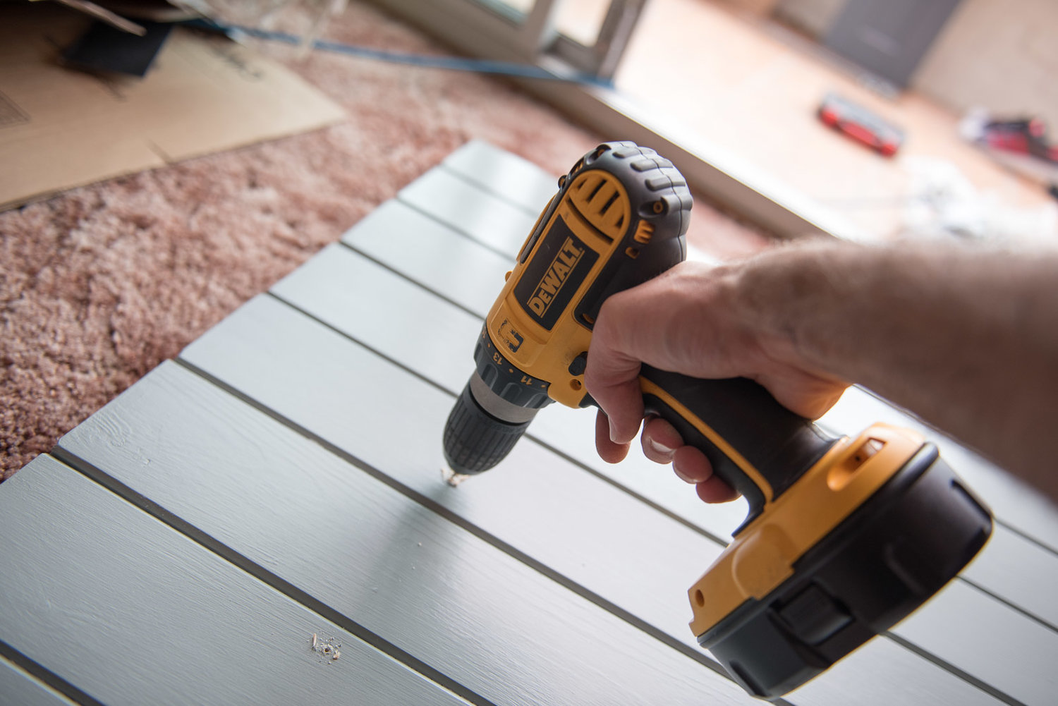 managing dust in a house renovation