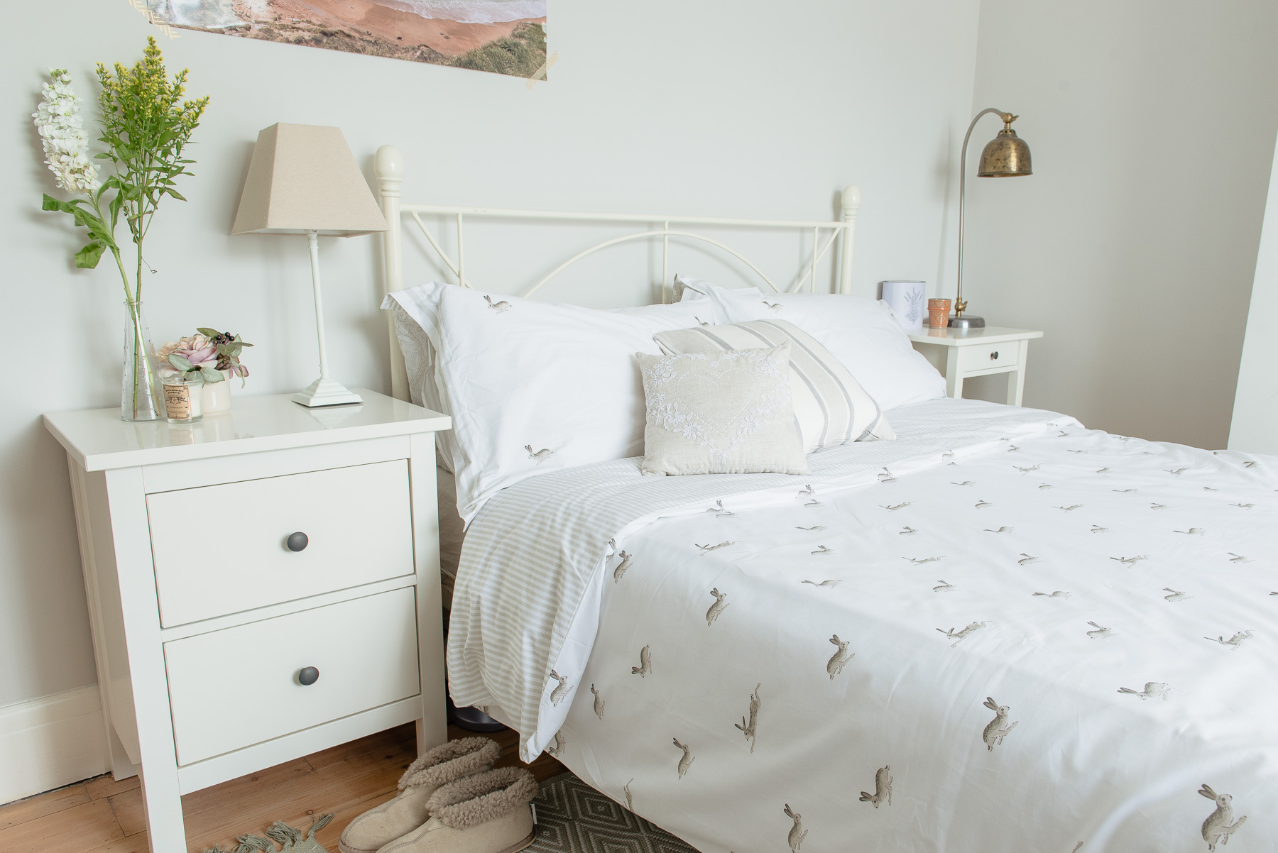 Bringing Country Charm To Our Guest Bedroom Home Decor Ideas Fifi Mcgee