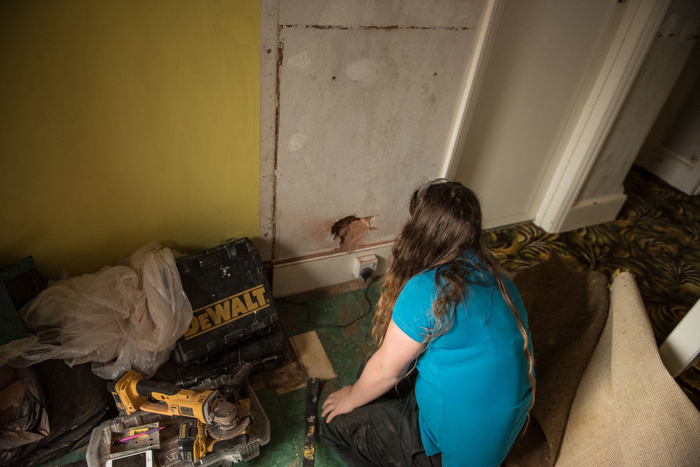 electrics in a renovation