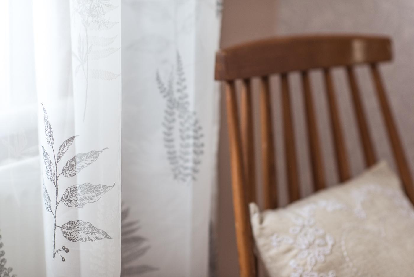bracken patterned curtain
