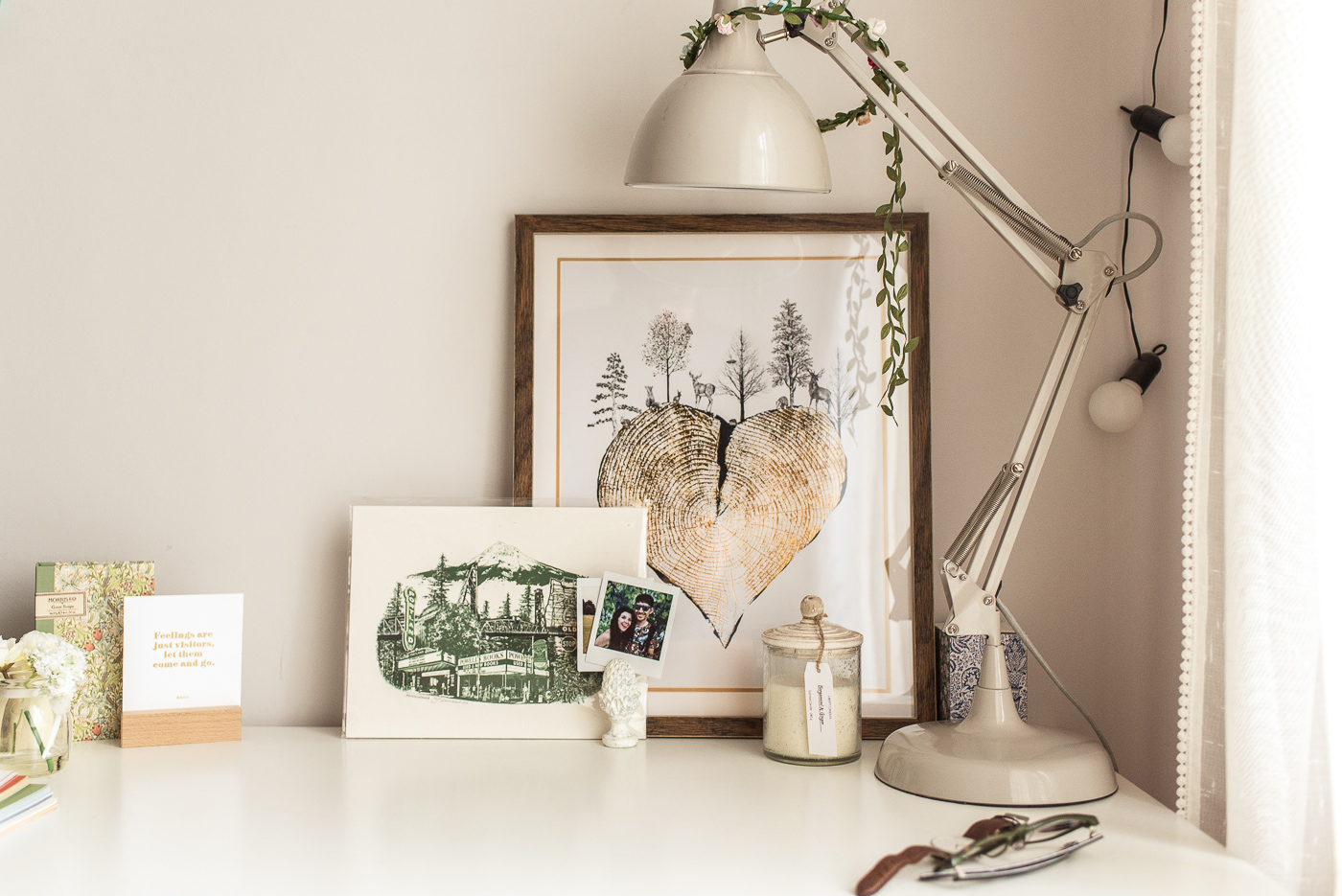 styling a small desk