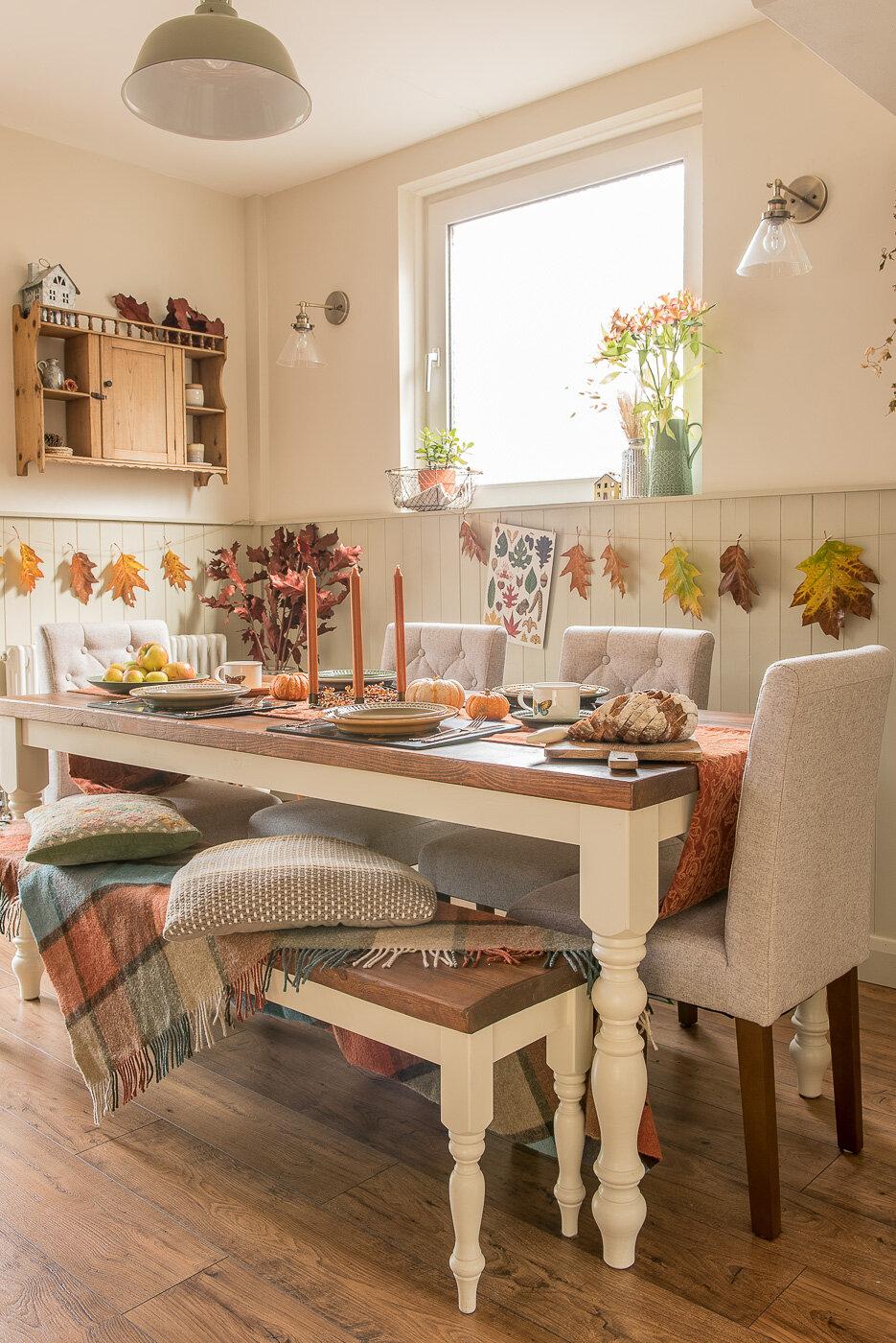 autumn table decoration ideas