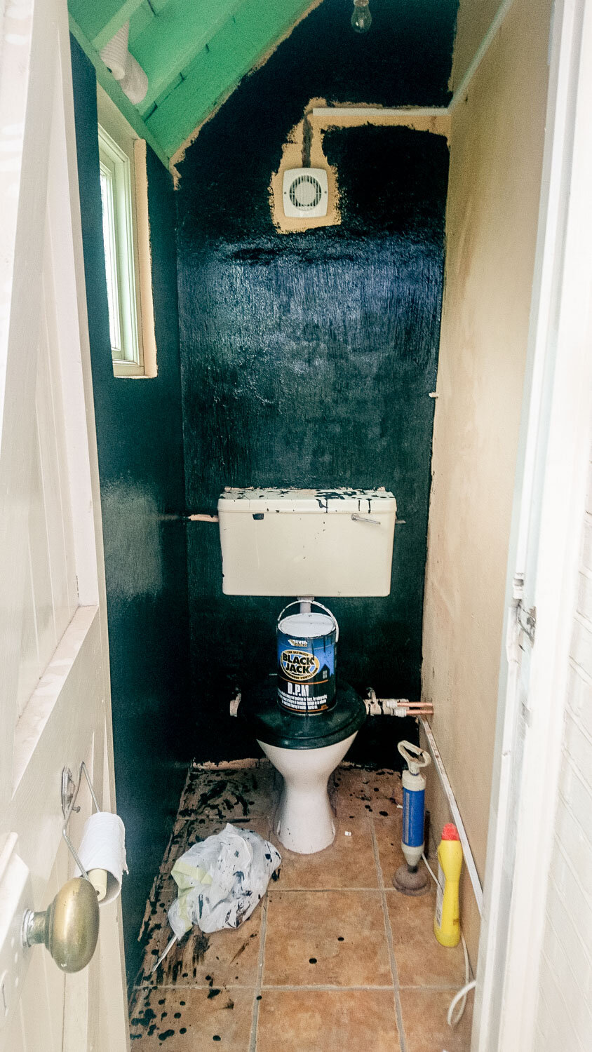 Our Small Wc Makeover Fifi Mcgee Interiors Renovation Blog