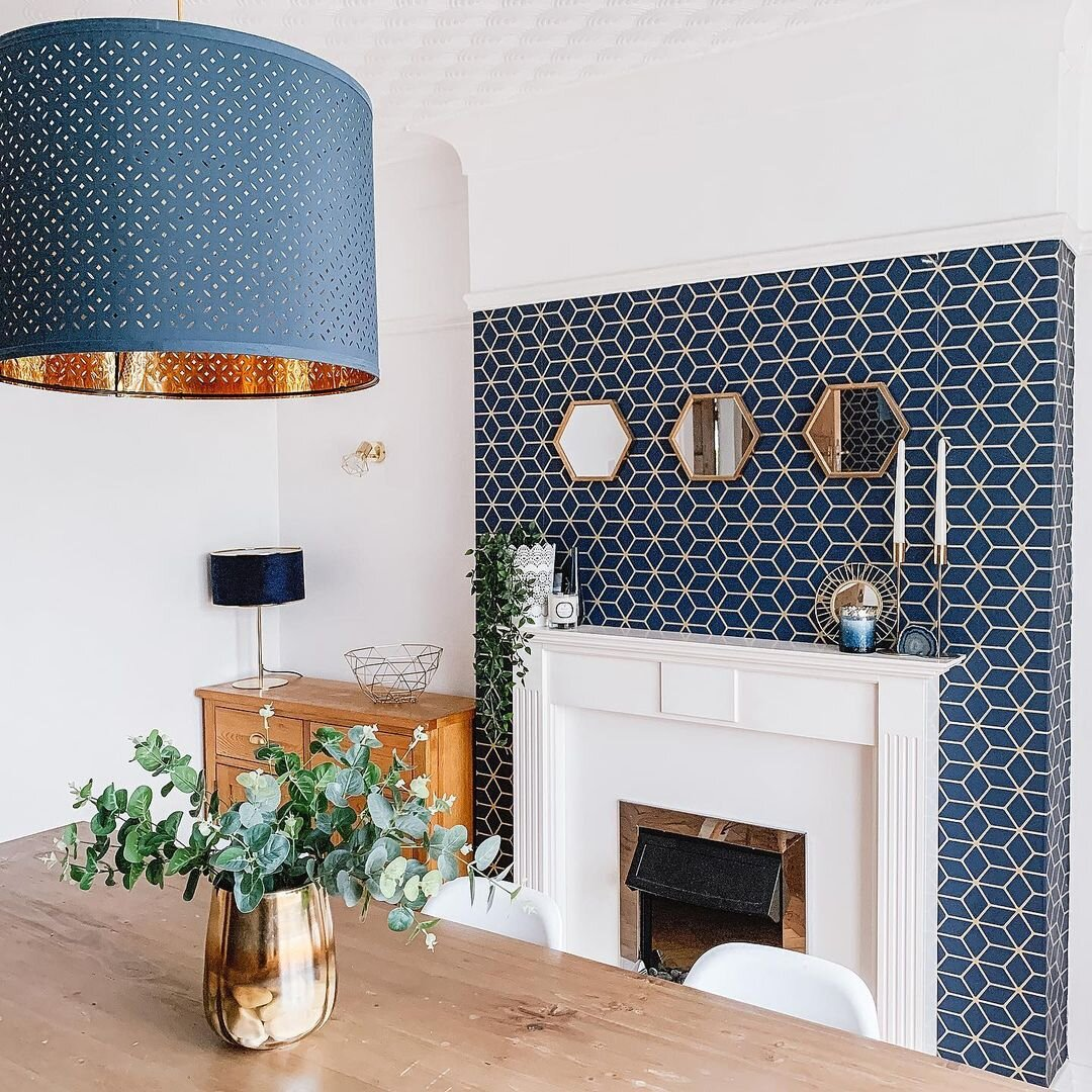10 Chimney Breast Wallpaper Ideas Fifi Mcgee Interiors Renovation Blog