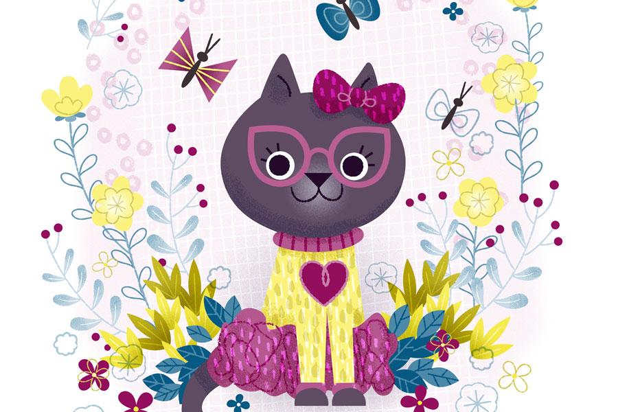 Pretty Dainty Kitty