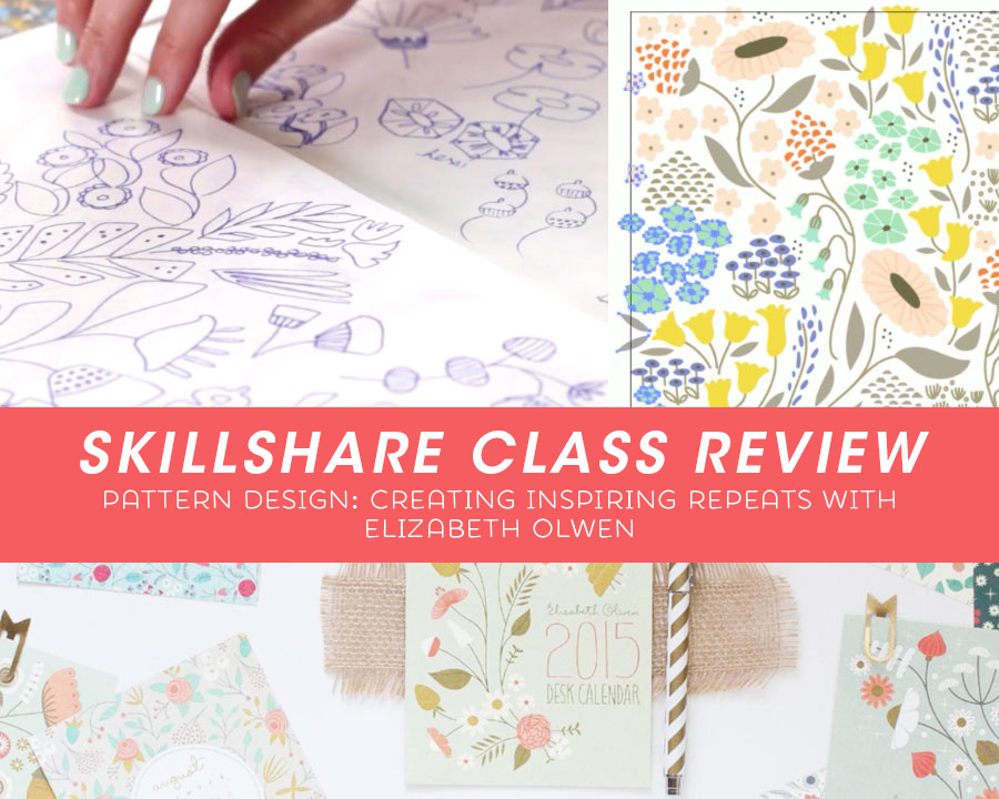 Skillshare Class Review Pattern Design: Inspring Repeats With Elizabeth Olwen via Kat Uno's Design Blog