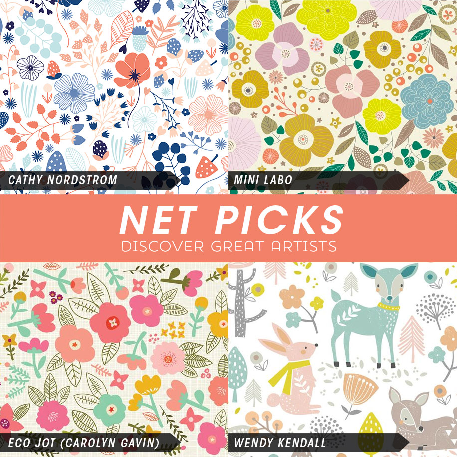 Net Picks - Spring has Sprung! Discover great artists via Kat Uno's Design Blog