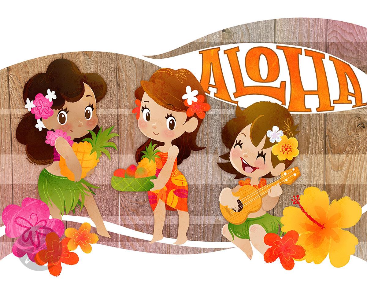 Tropical Girls Trio via katuno.com