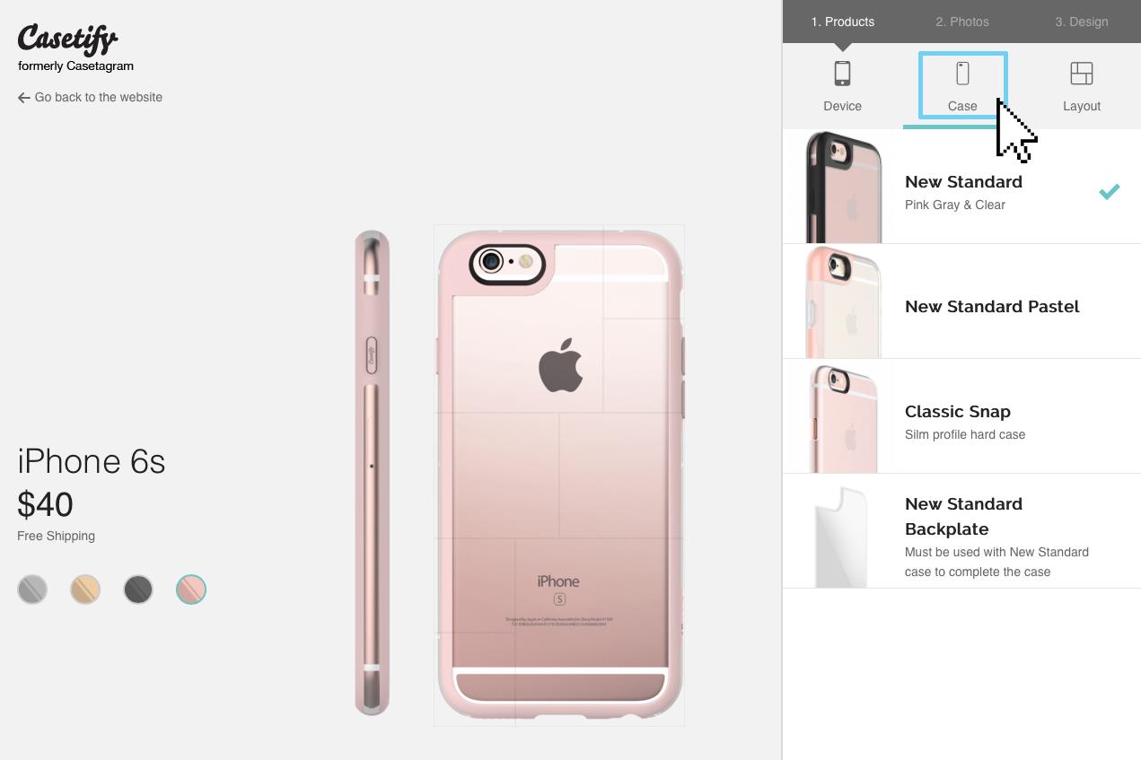 Phone case types