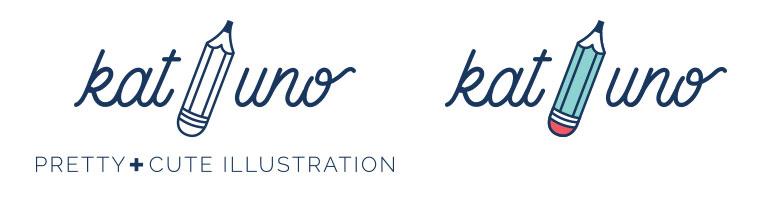 Kat Uno logo alternatives