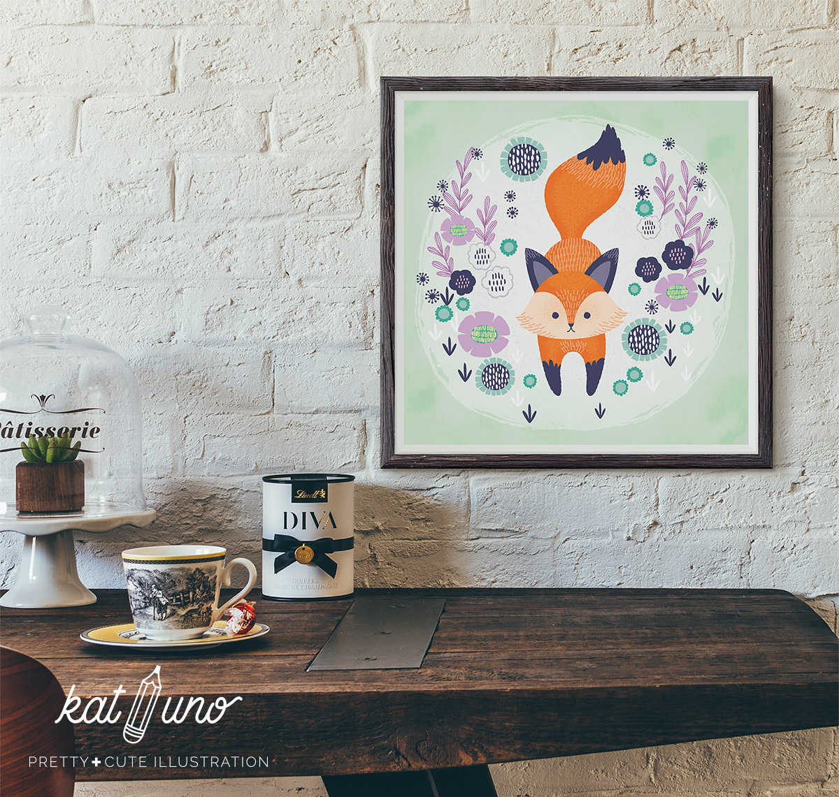 Fox Framed