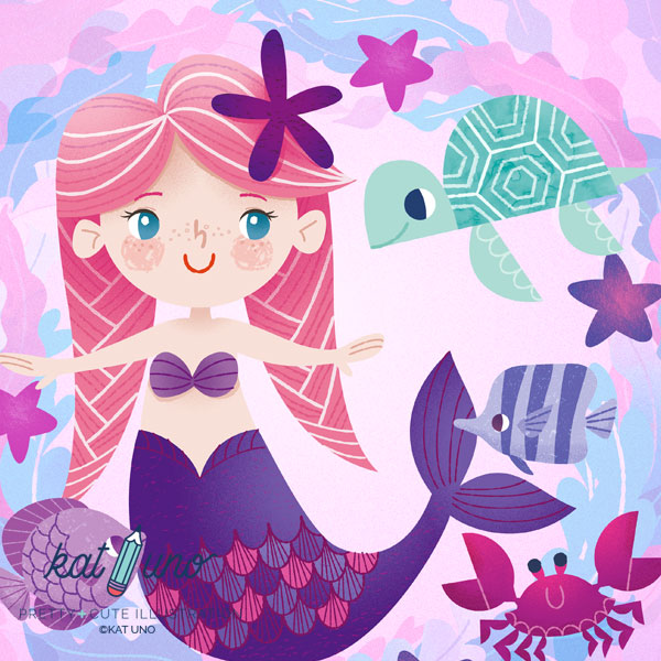 prety mermaid