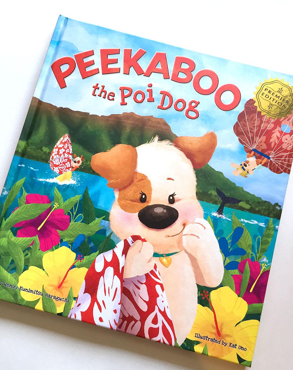 Peekaboo the Poi Dog