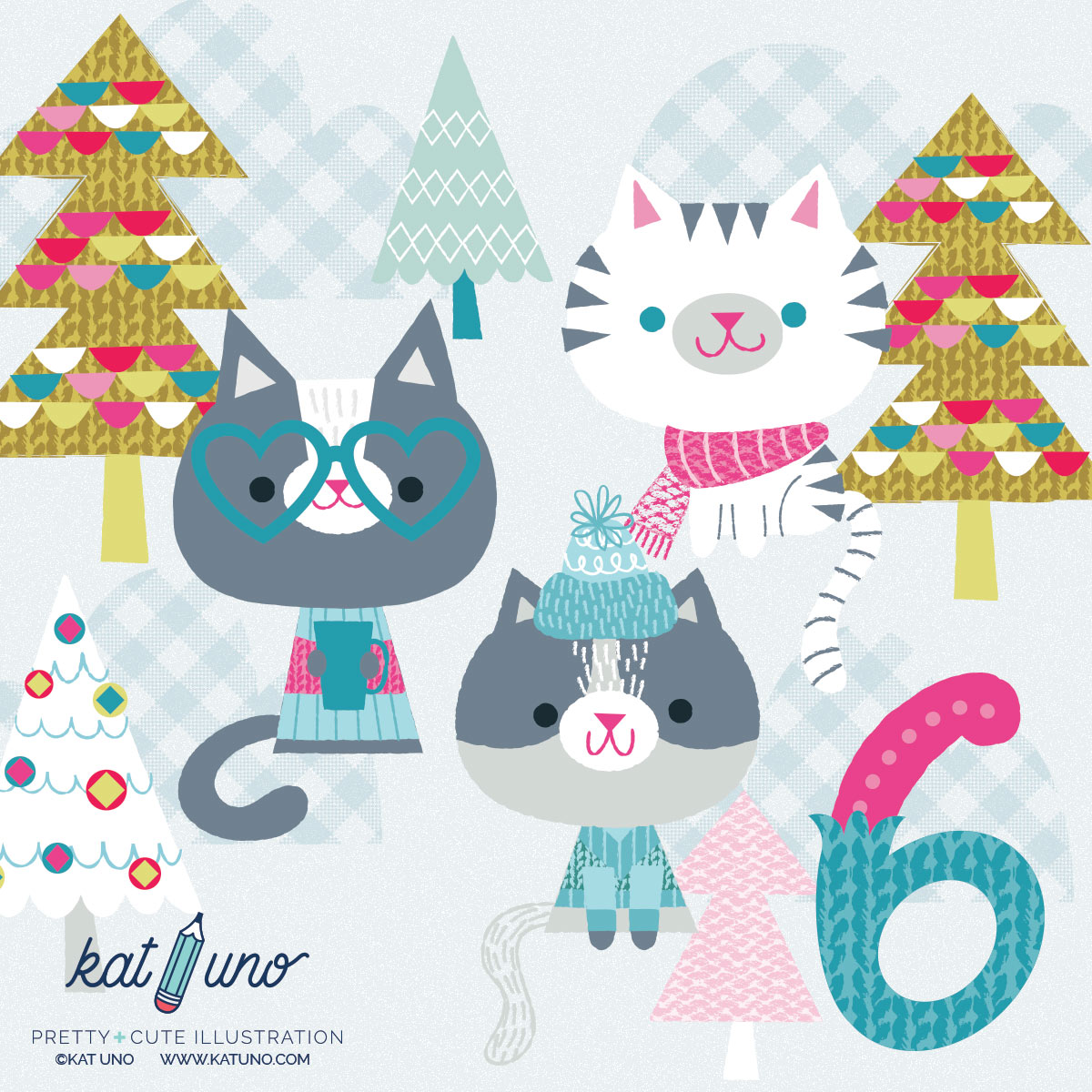 Day 6 of the Holiday Advent Project - Kat Uno Designs