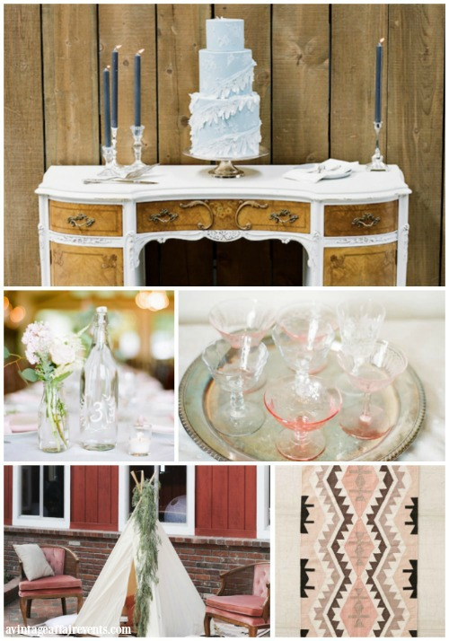 All images courtesy of A Vintage Affair Events